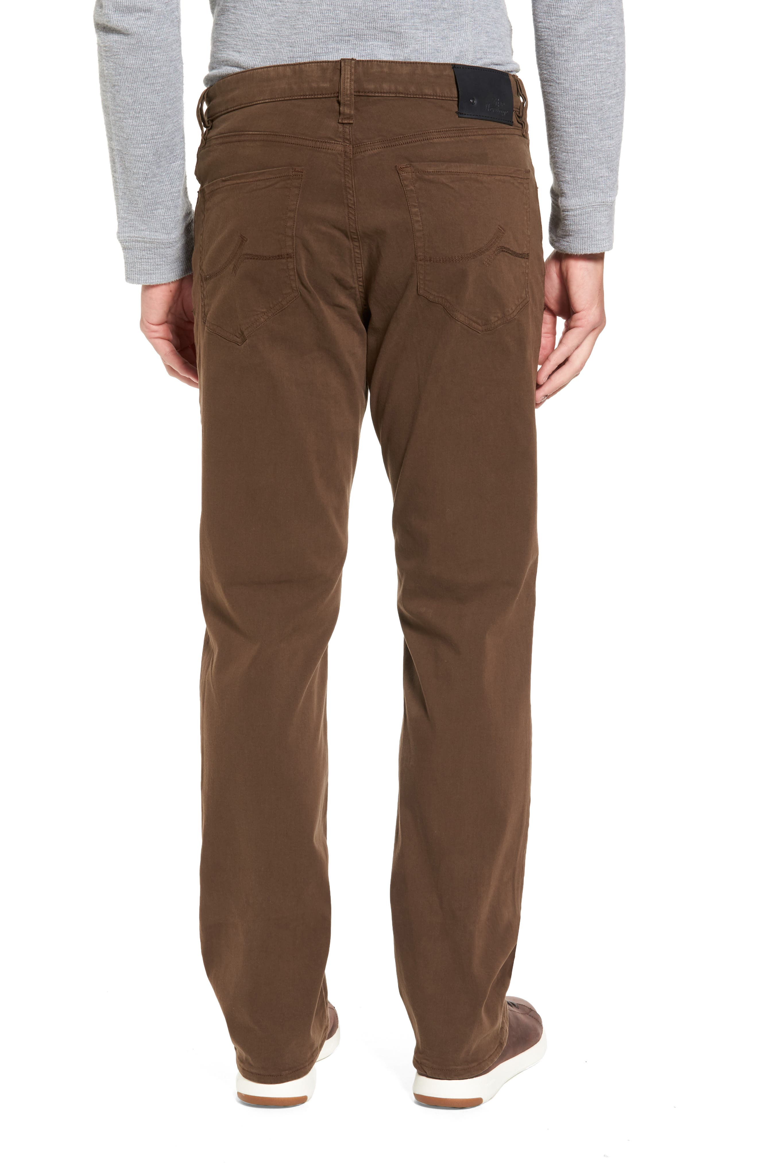 Alternate Image 2  - 34 Heritage Charism Relaxed Fit Jeans (Choco Twill)