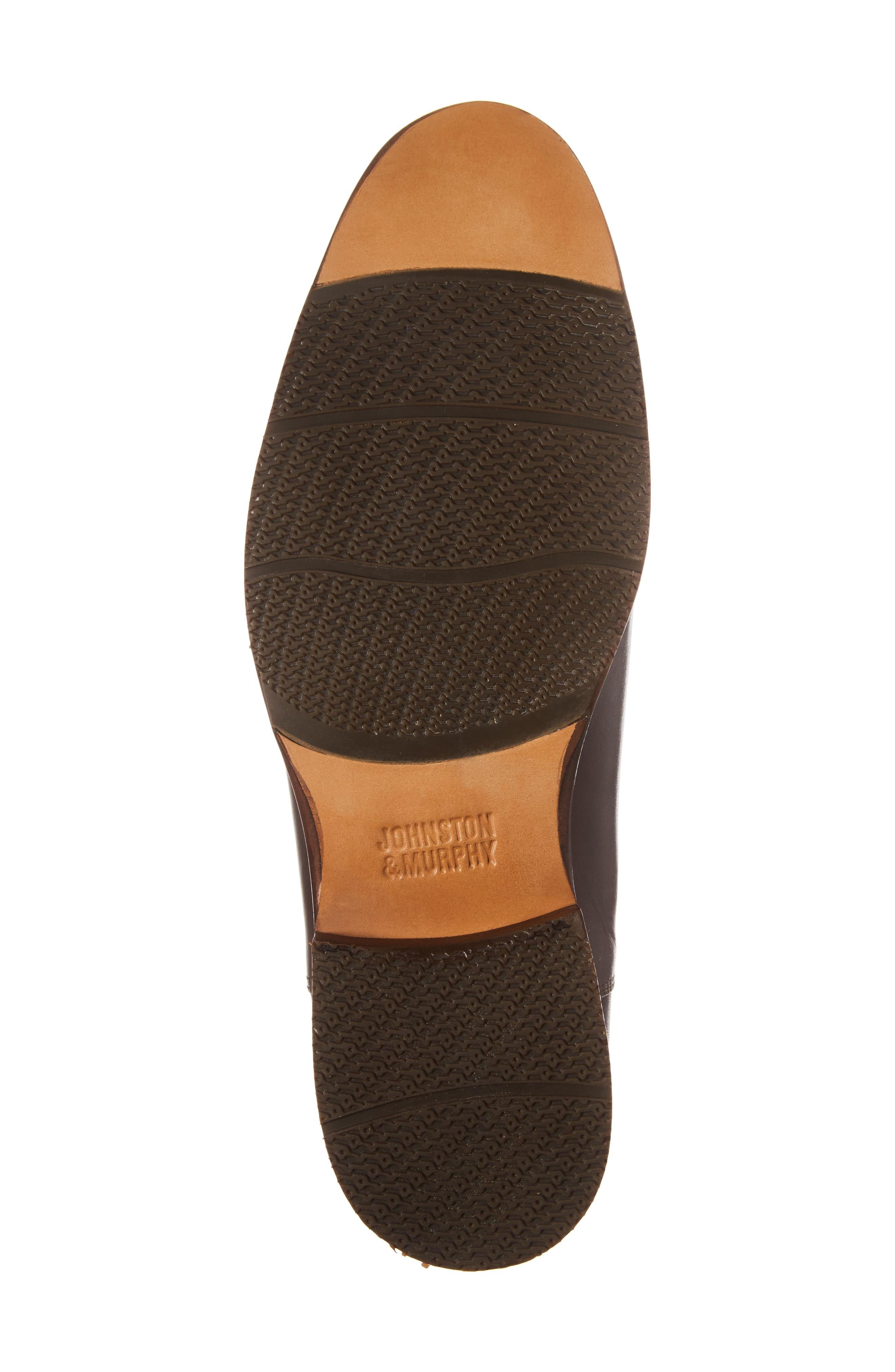 Garner Chelsea Boot,                             Alternate thumbnail 6, color,                             Mahogany Leather