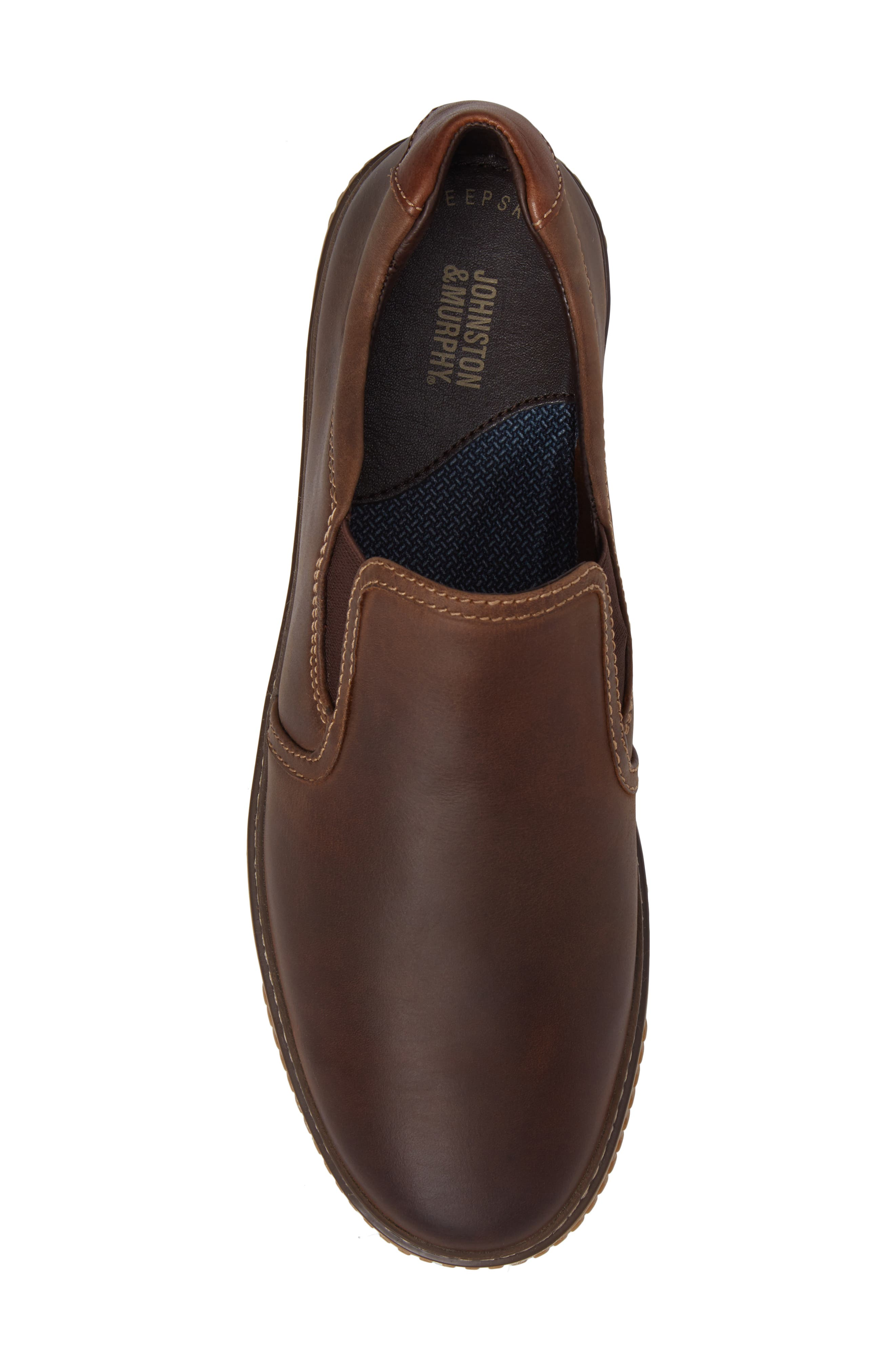 Wallace Slip-On Sneaker,                             Alternate thumbnail 5, color,                             Brown