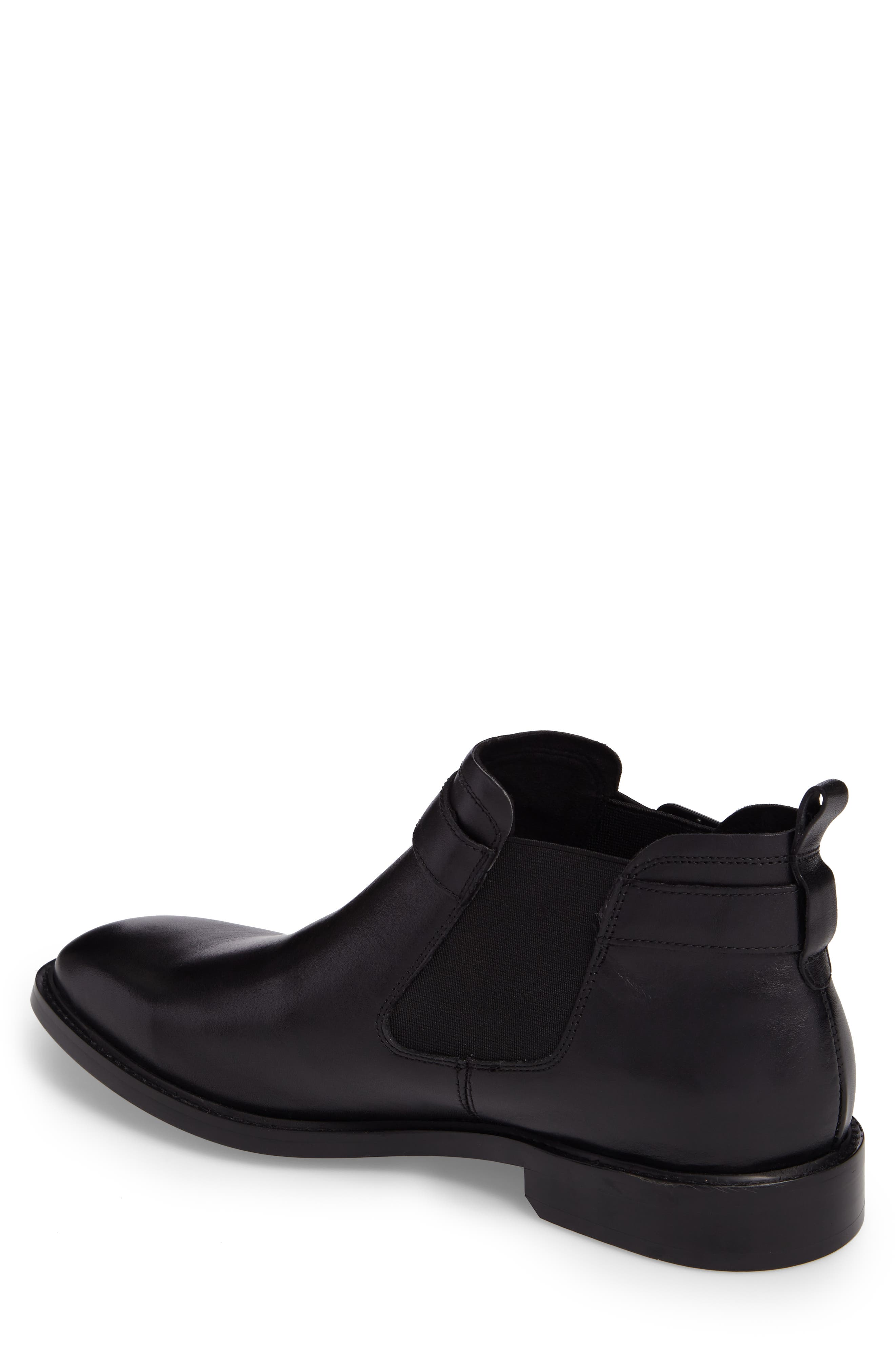 'Sum-Times' Chelsea Boot,                             Alternate thumbnail 2, color,                             Black Leather