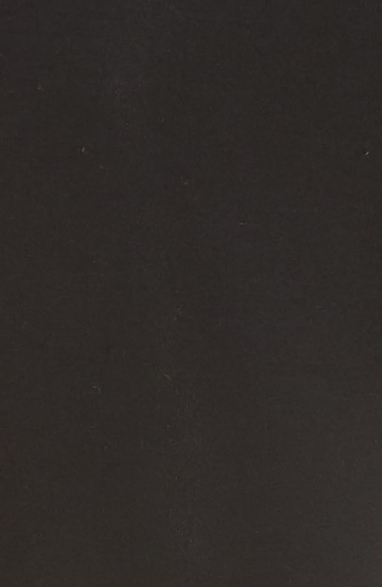 Lace-Up Leggings,                             Alternate thumbnail 5, color,                             Black