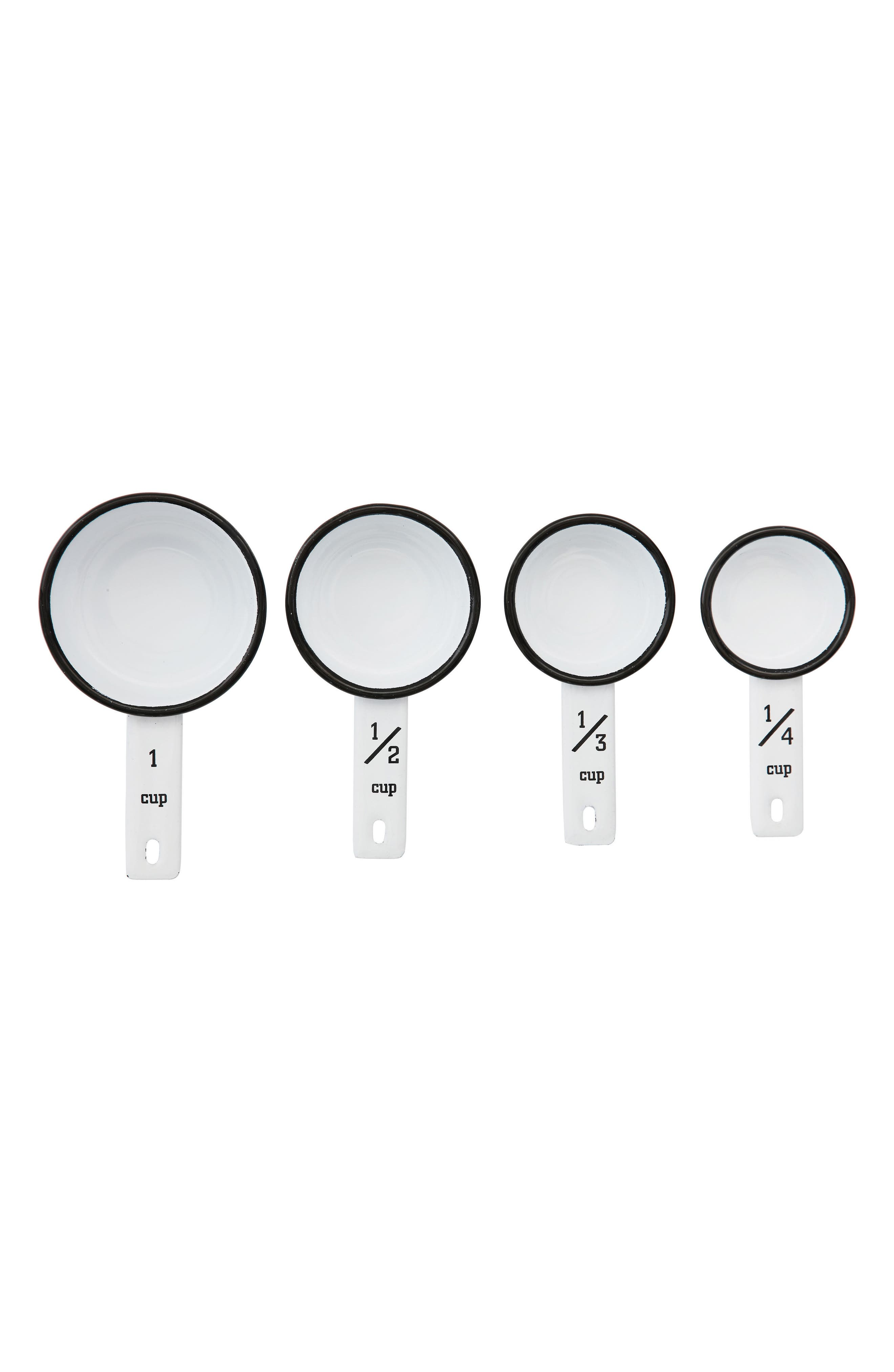 Alternate Image 1 Selected - Creative Co-Op Set of 4 Measuring Cups