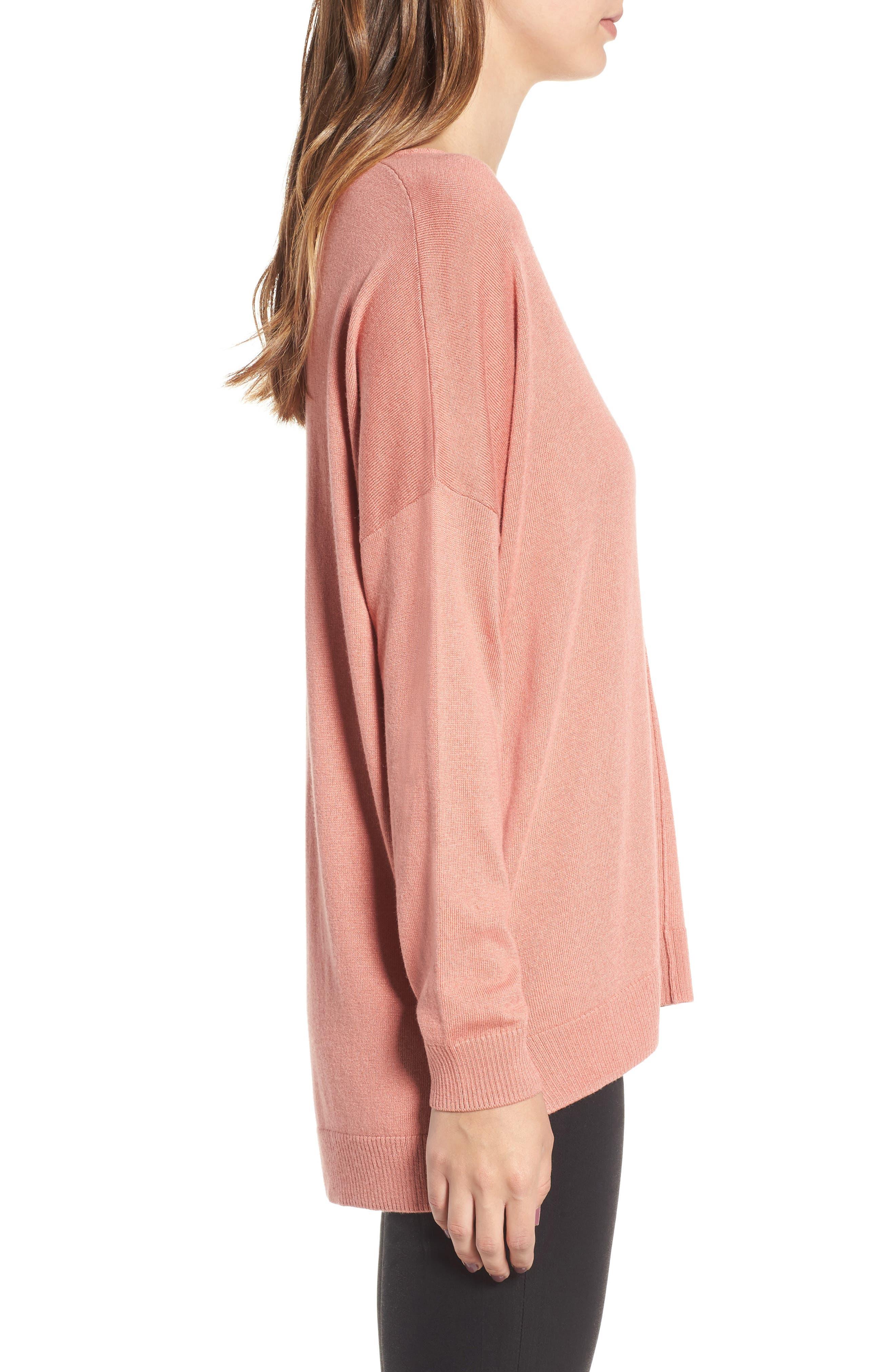 Alternate Image 3  - Leith V-Neck Sweater