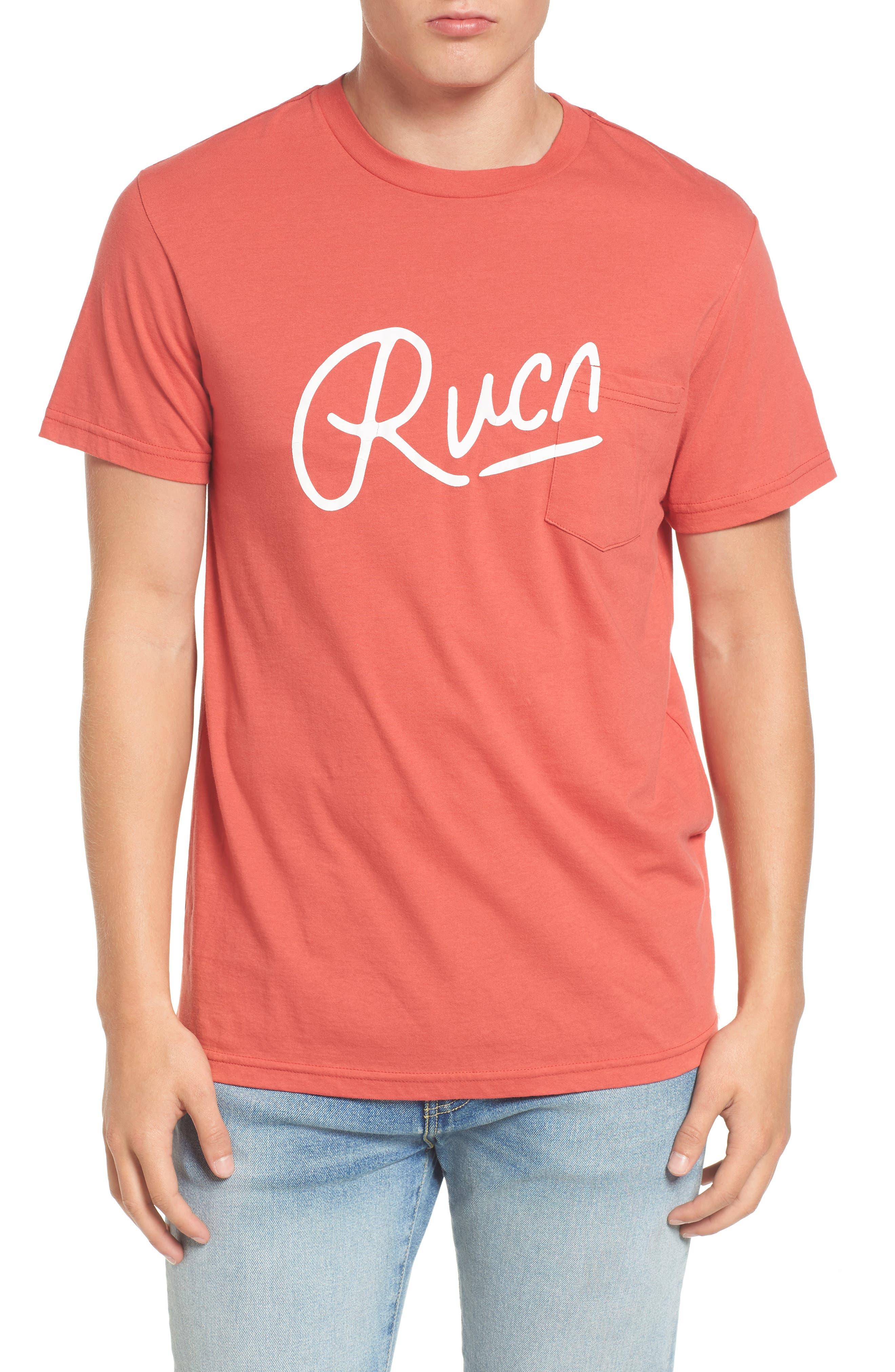 Alternate Image 1 Selected - RVCA Mowgli Logo T-Shirt