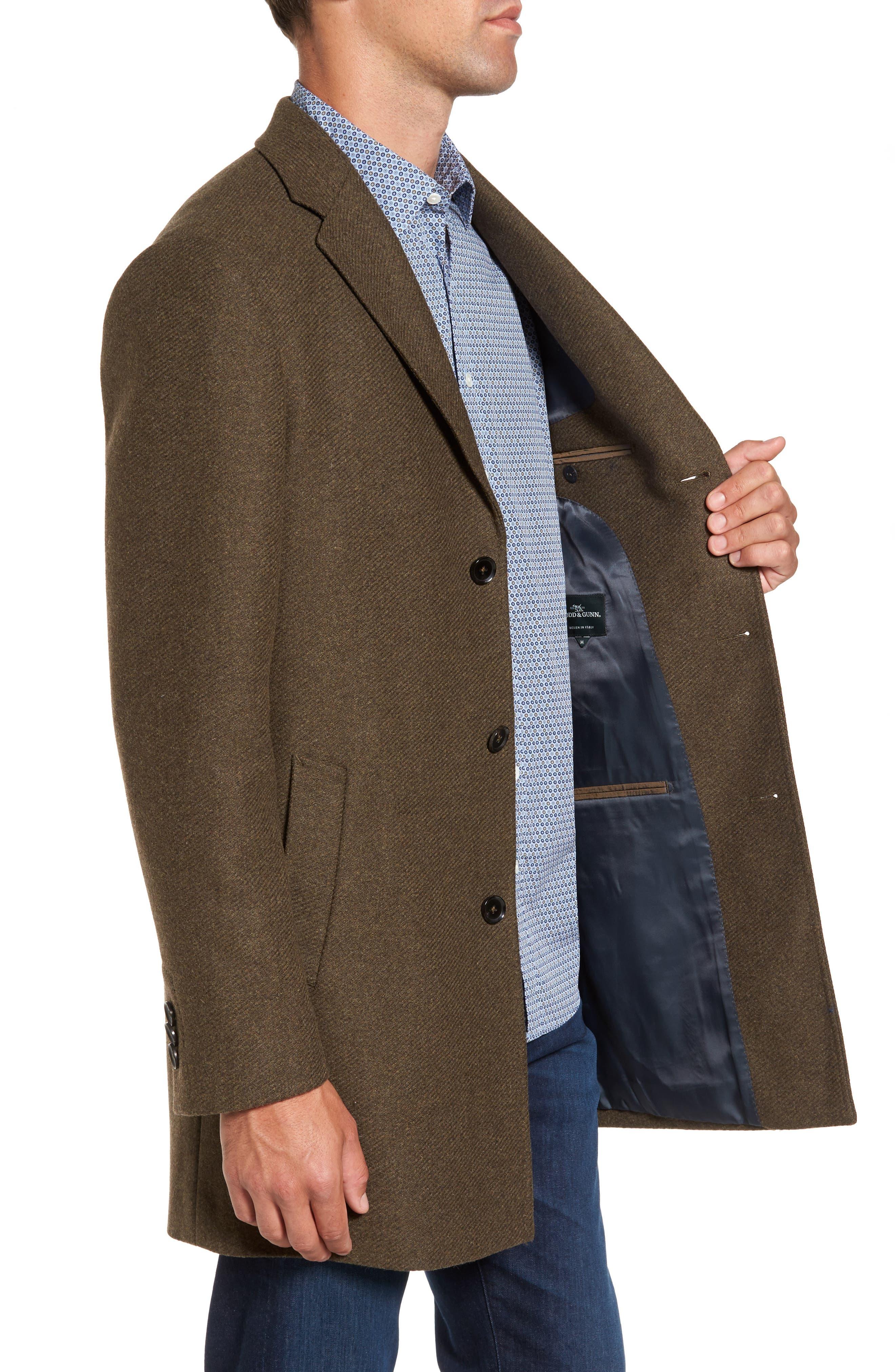 Alternate Image 3  - Rodd & Gunn Stirling Point Wool Blend Coat