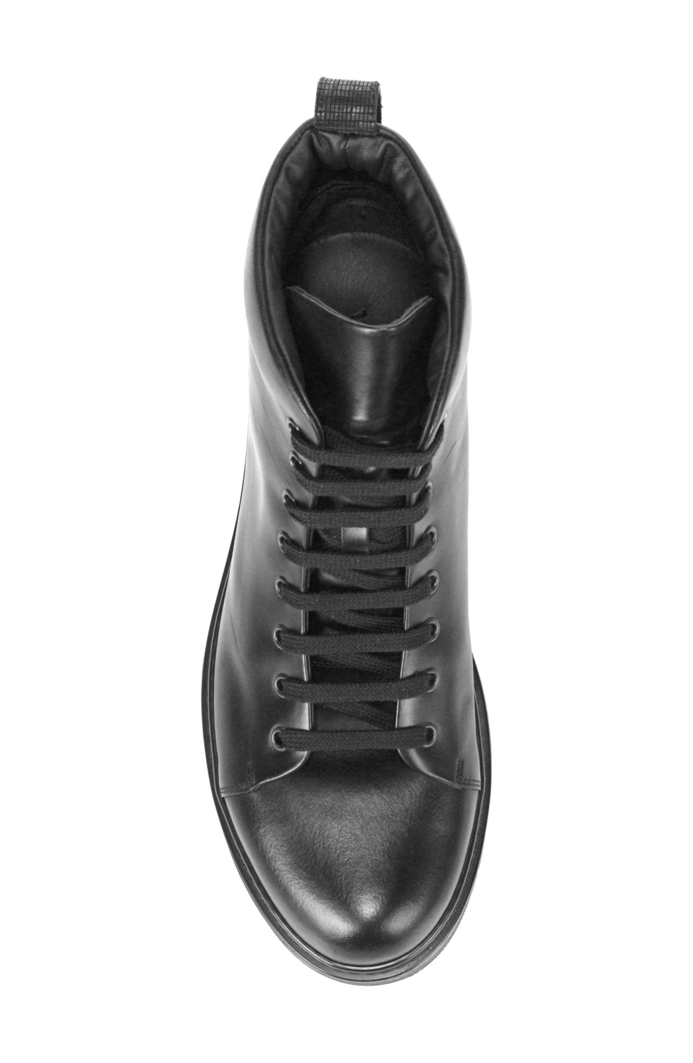 Malone Plain Toe Boot,                             Alternate thumbnail 5, color,                             Black