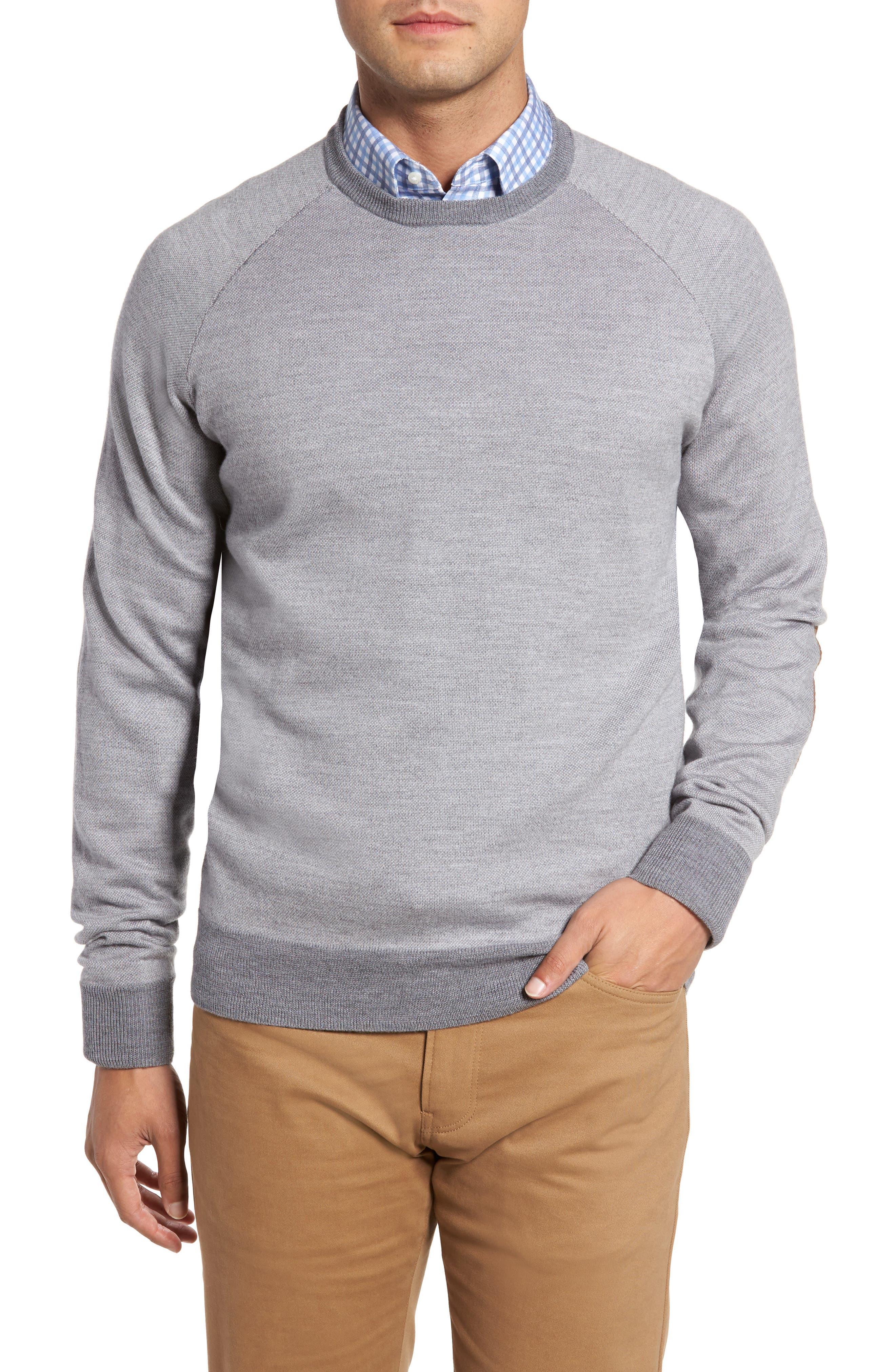 Soltice Merino Sweater,                         Main,                         color, Stingray
