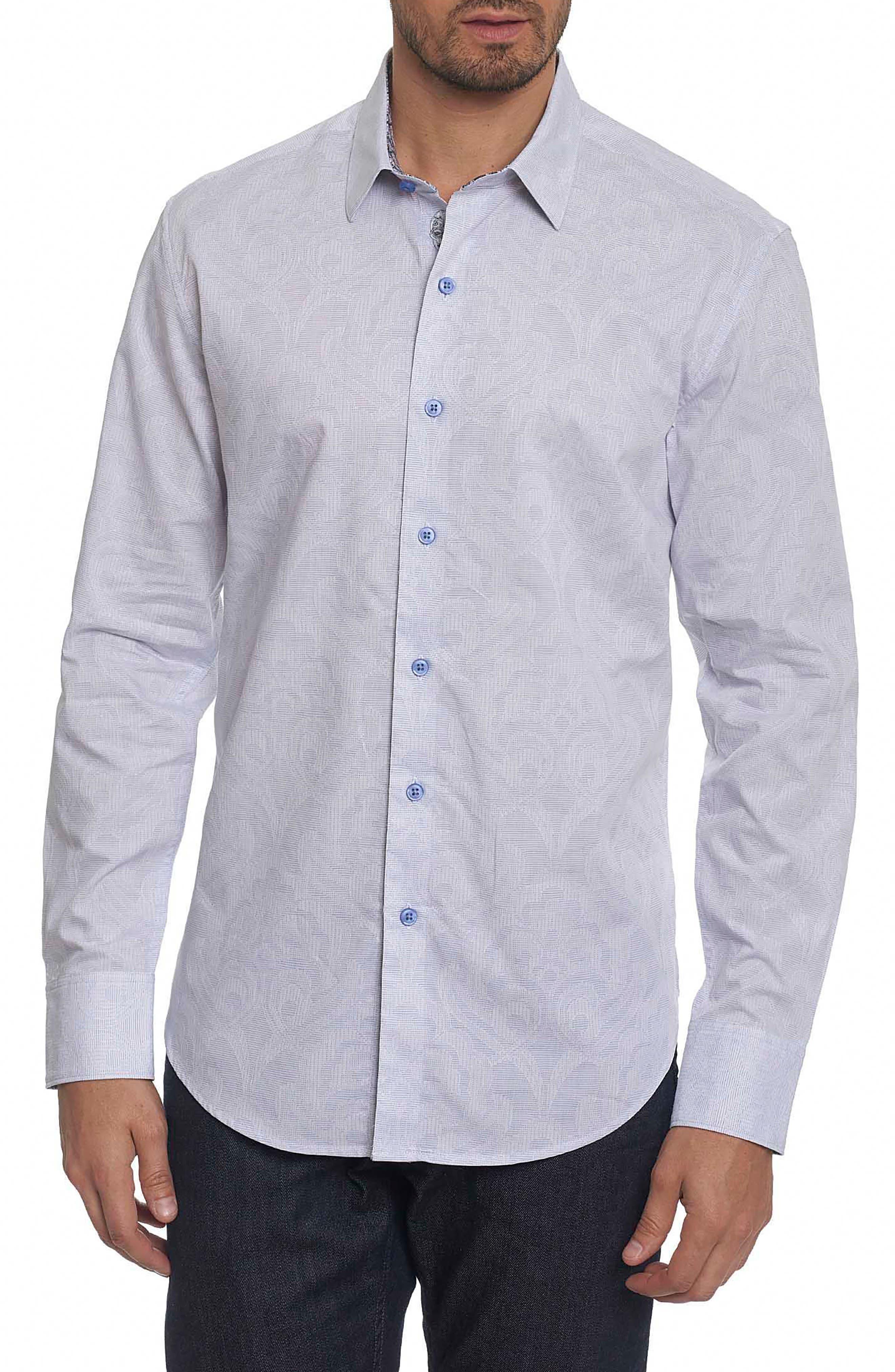 Alex Bay Classic Fit Sport Shirt,                         Main,                         color, White