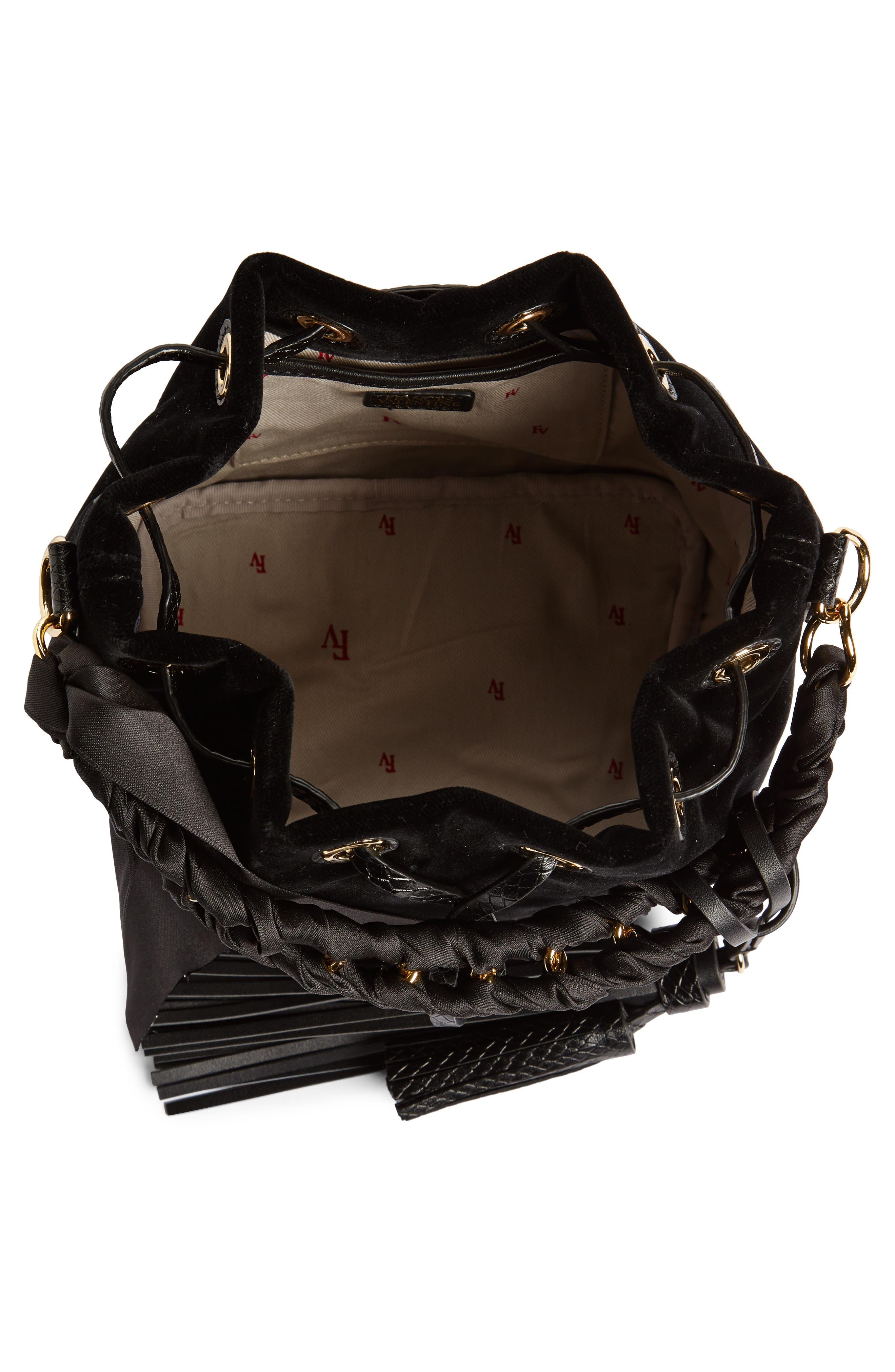 Alternate Image 3  - Frances Valentine Small Velvet Bucket Bag