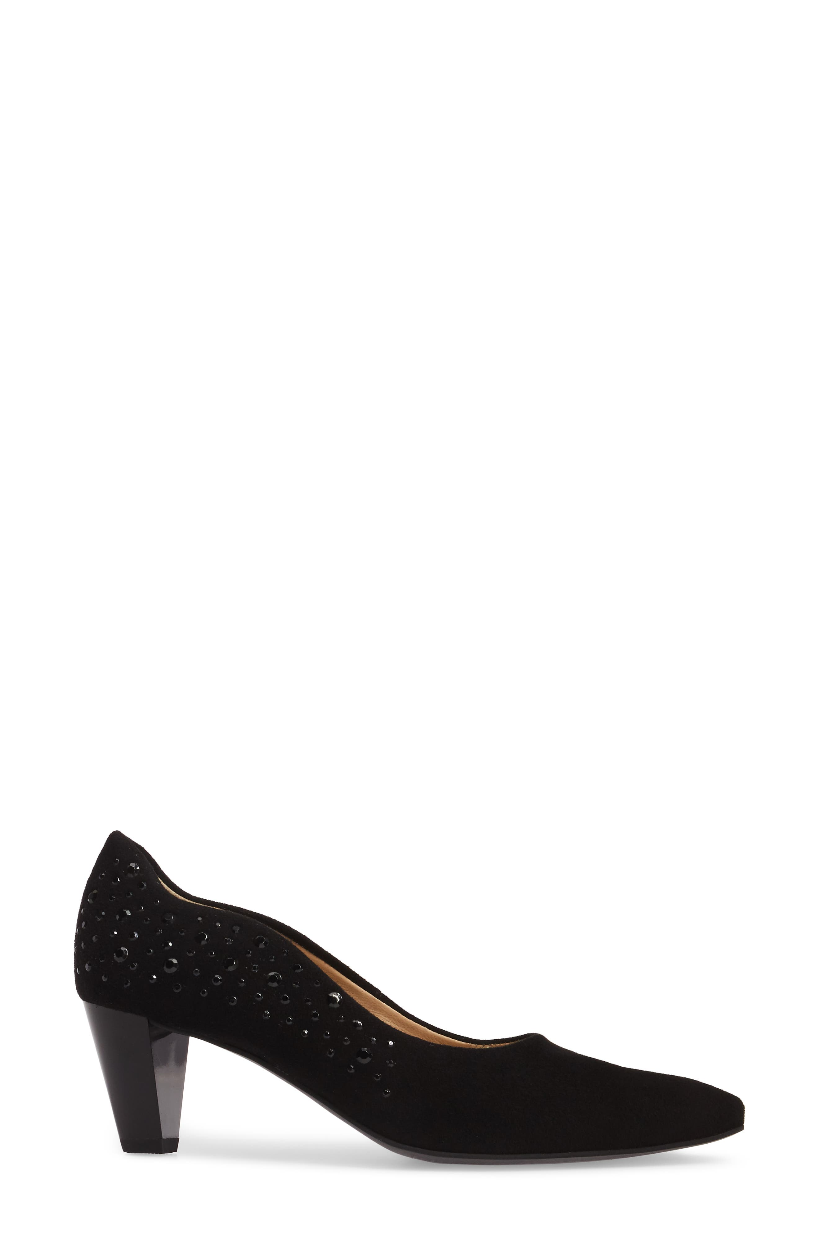 Alternate Image 3  - ara Pippa Crystal Embellished Pump (Women)