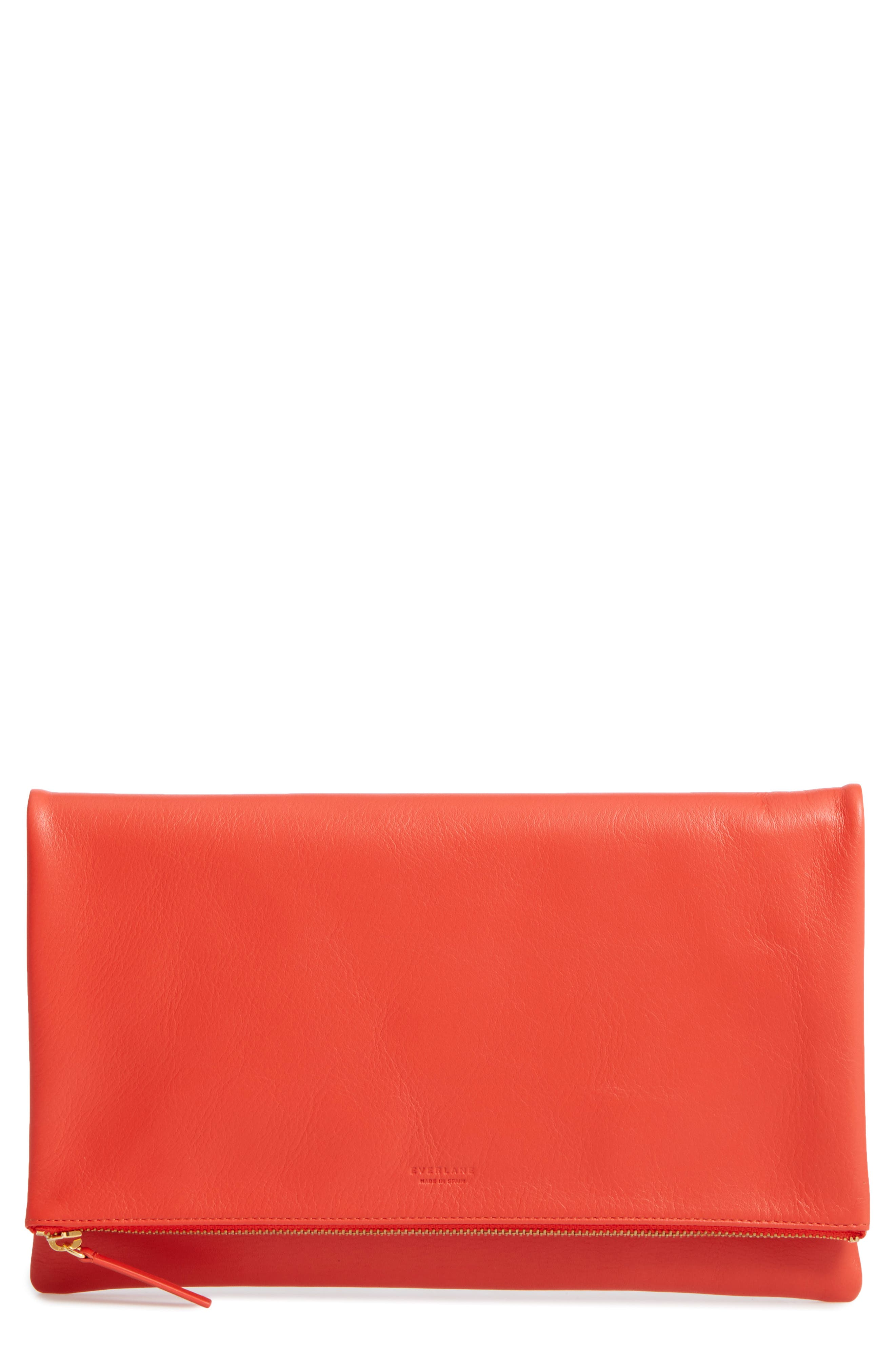 Main Image - Everlane The Foldover Pouch