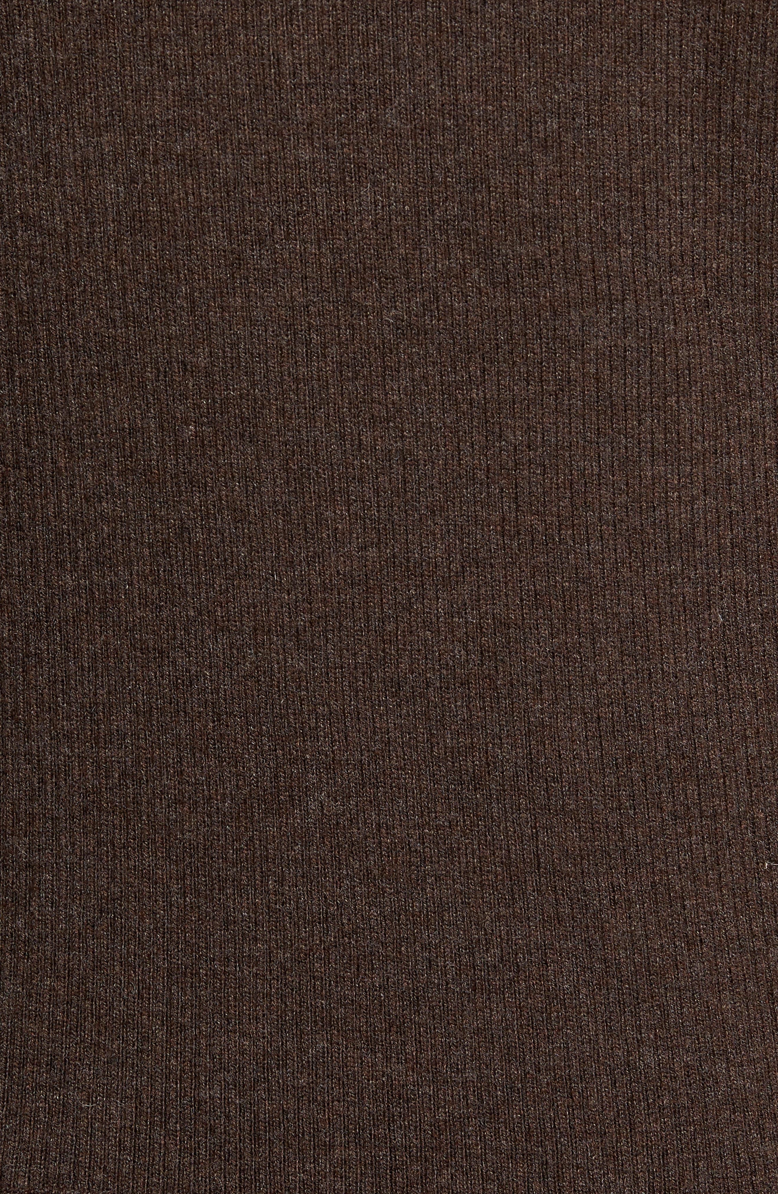 Alternate Image 5  - Peter Millar Crown Quilt Front Merino Wool Blend Cardigan
