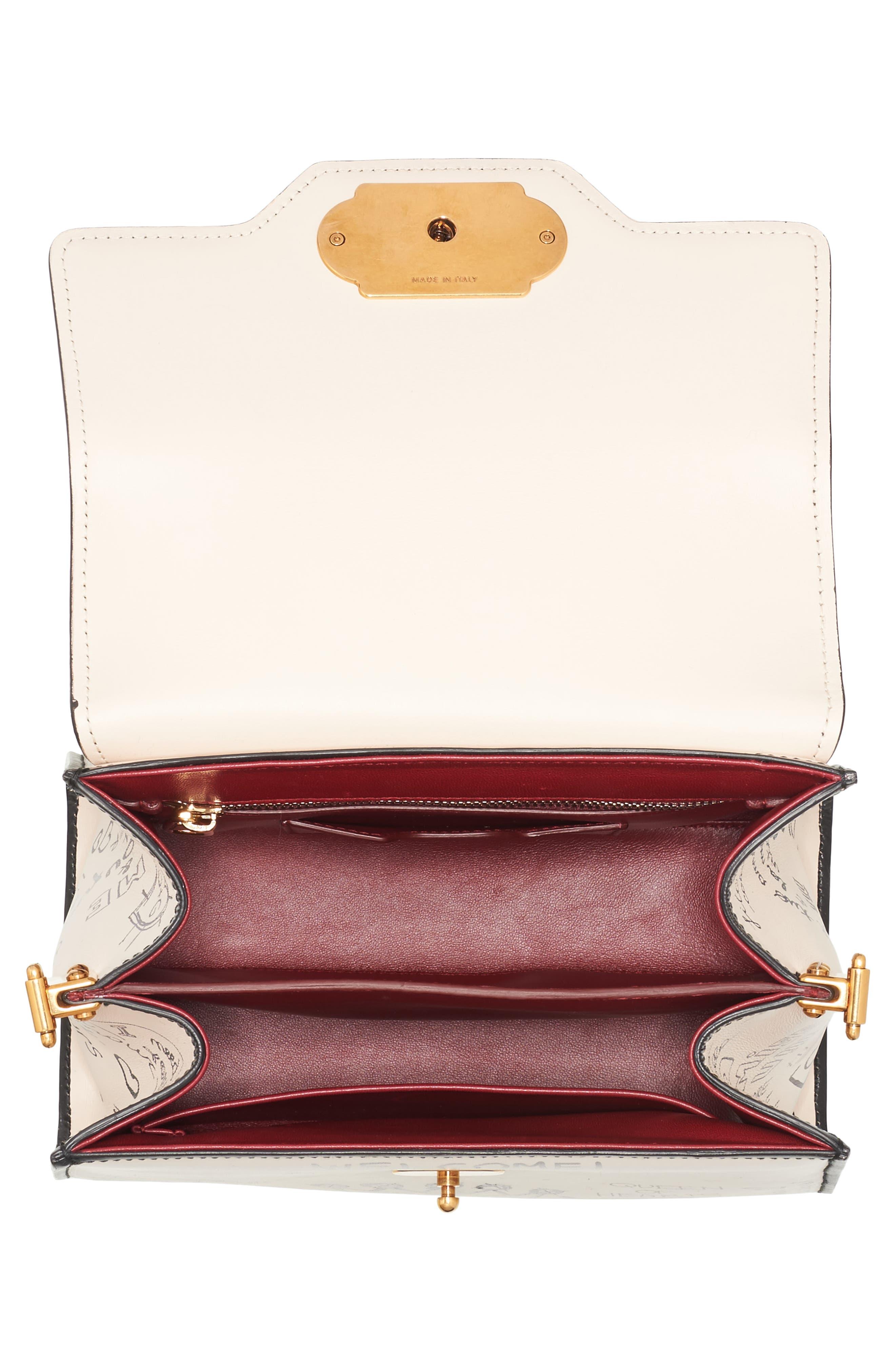 Alternate Image 4  - Dolce&Gabbana Medium Welcome Leather Satchel
