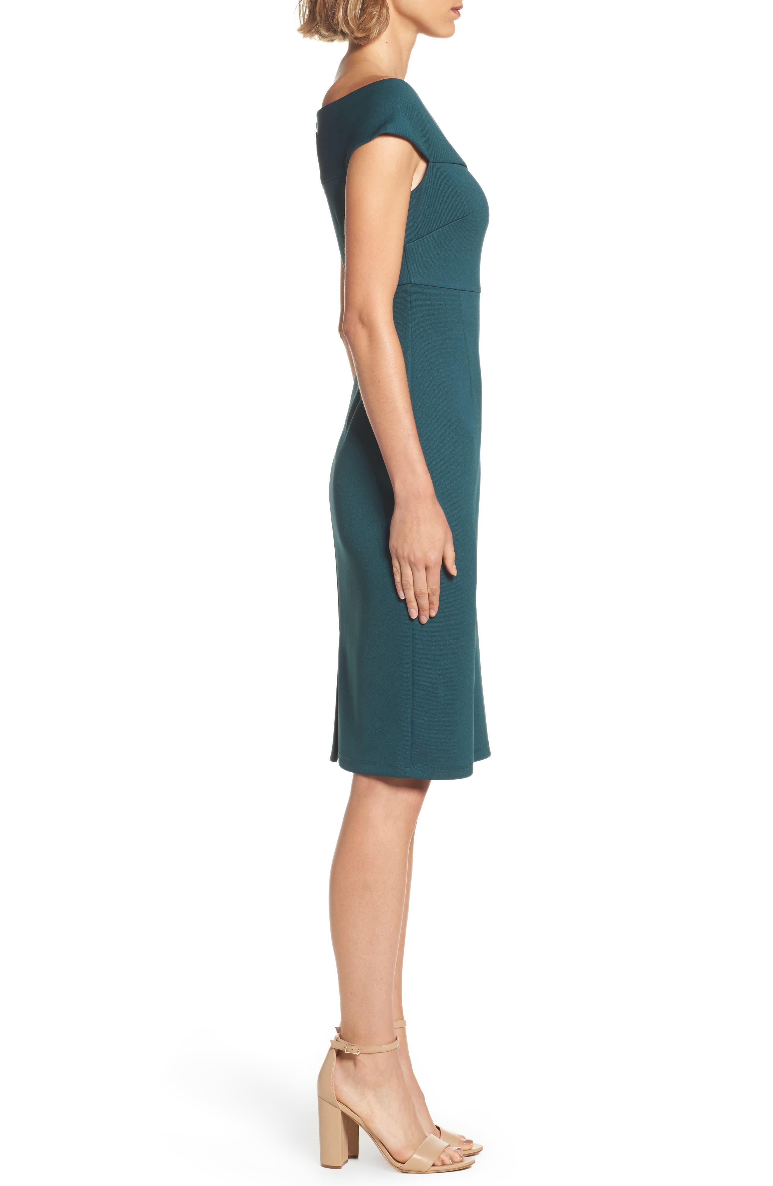 Alternate Image 3  - Adrianna Papell Sheath Dress (Regular & Petite)
