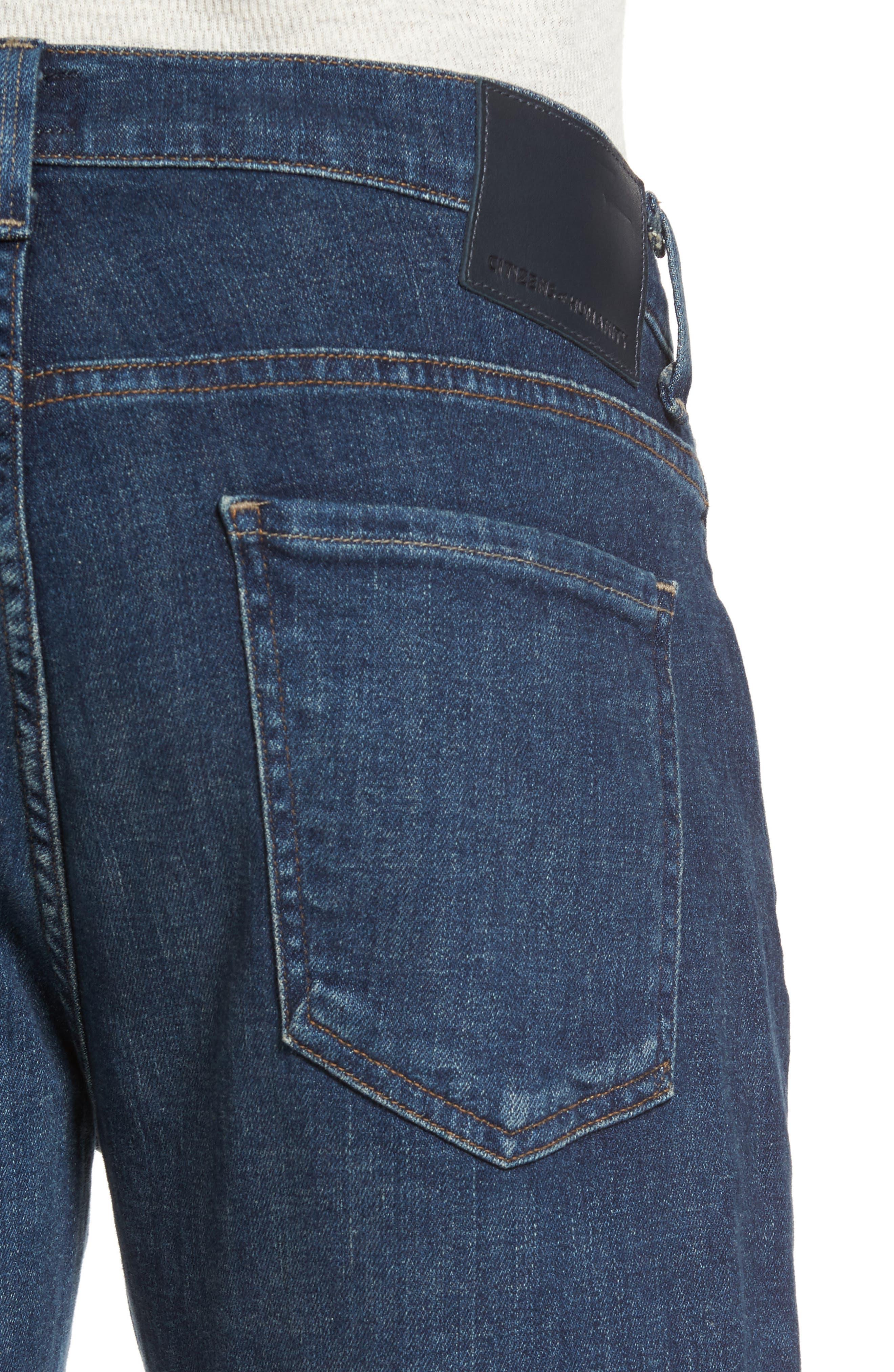 Sid Straight Leg Jeans,                             Alternate thumbnail 4, color,                             Eastgate