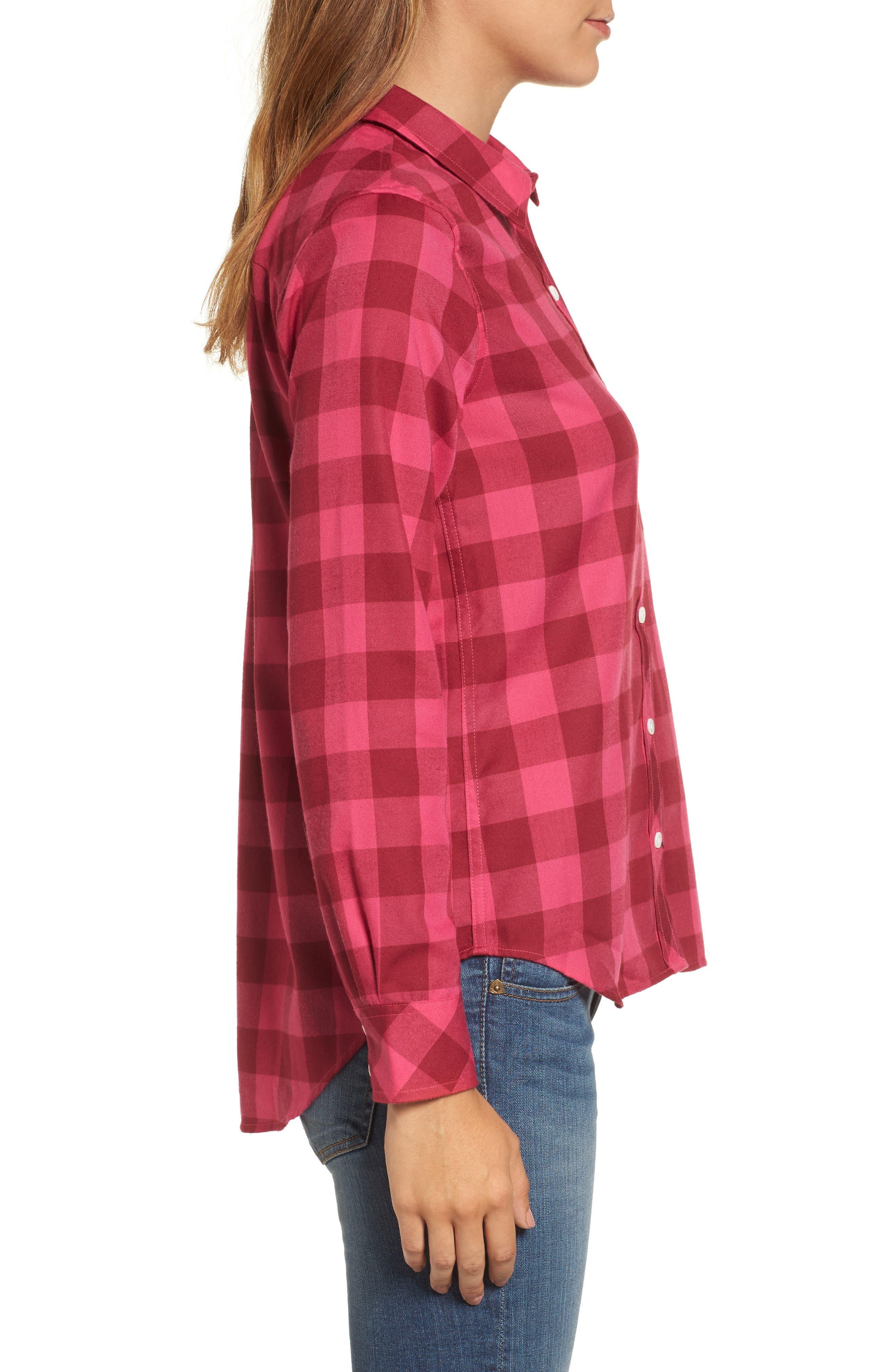 Alternate Image 3  - Vineyard Vines Carmel Relaxed Buffalo Check Shirt