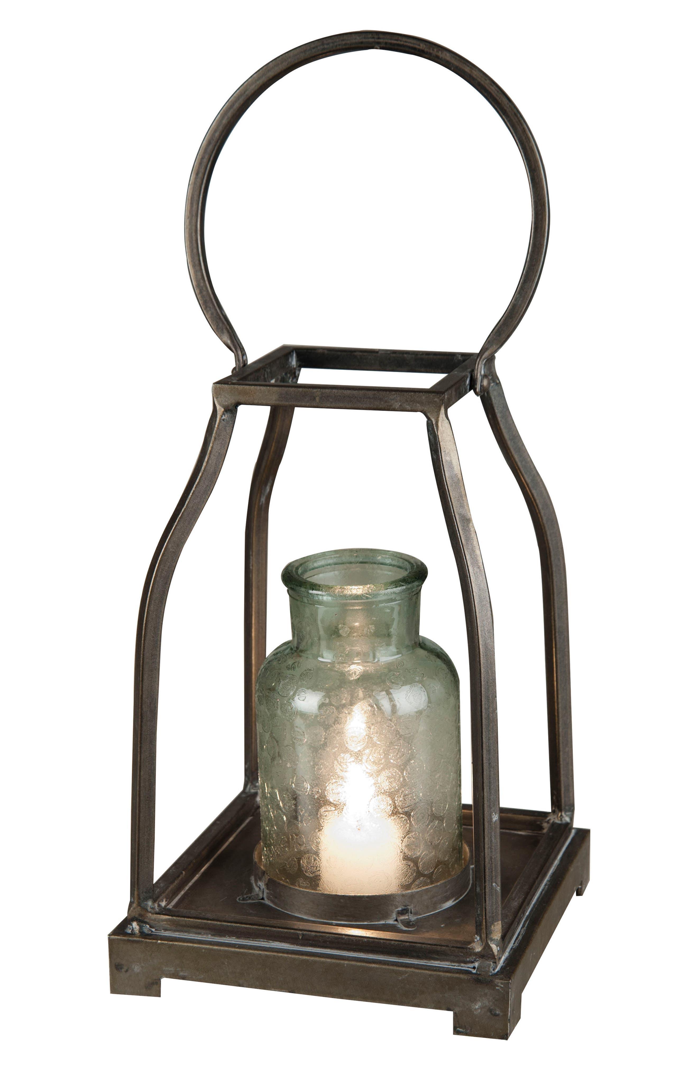 Wheaton Lantern,                             Main thumbnail 1, color,                             Metal/ Glass