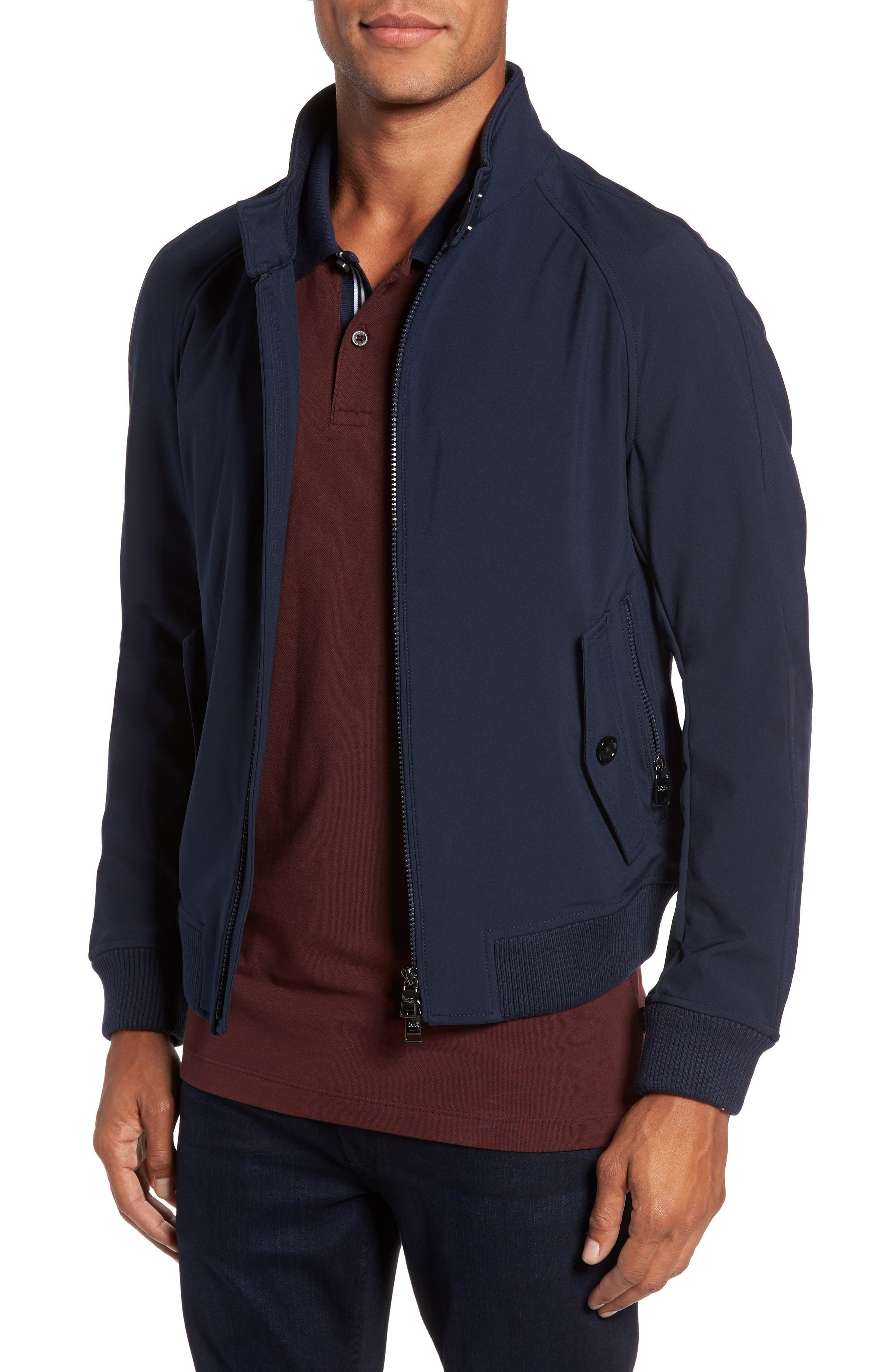 Alternate Image 1 Selected - BOSS Corva Technical Jacket