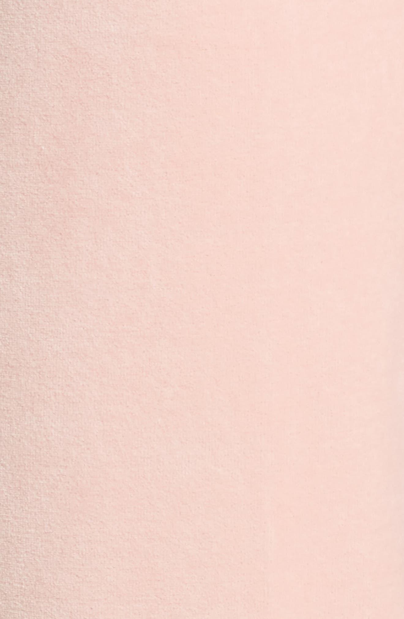 Zuma Crystal Velour Pants,                             Alternate thumbnail 5, color,                             Sugared Icing