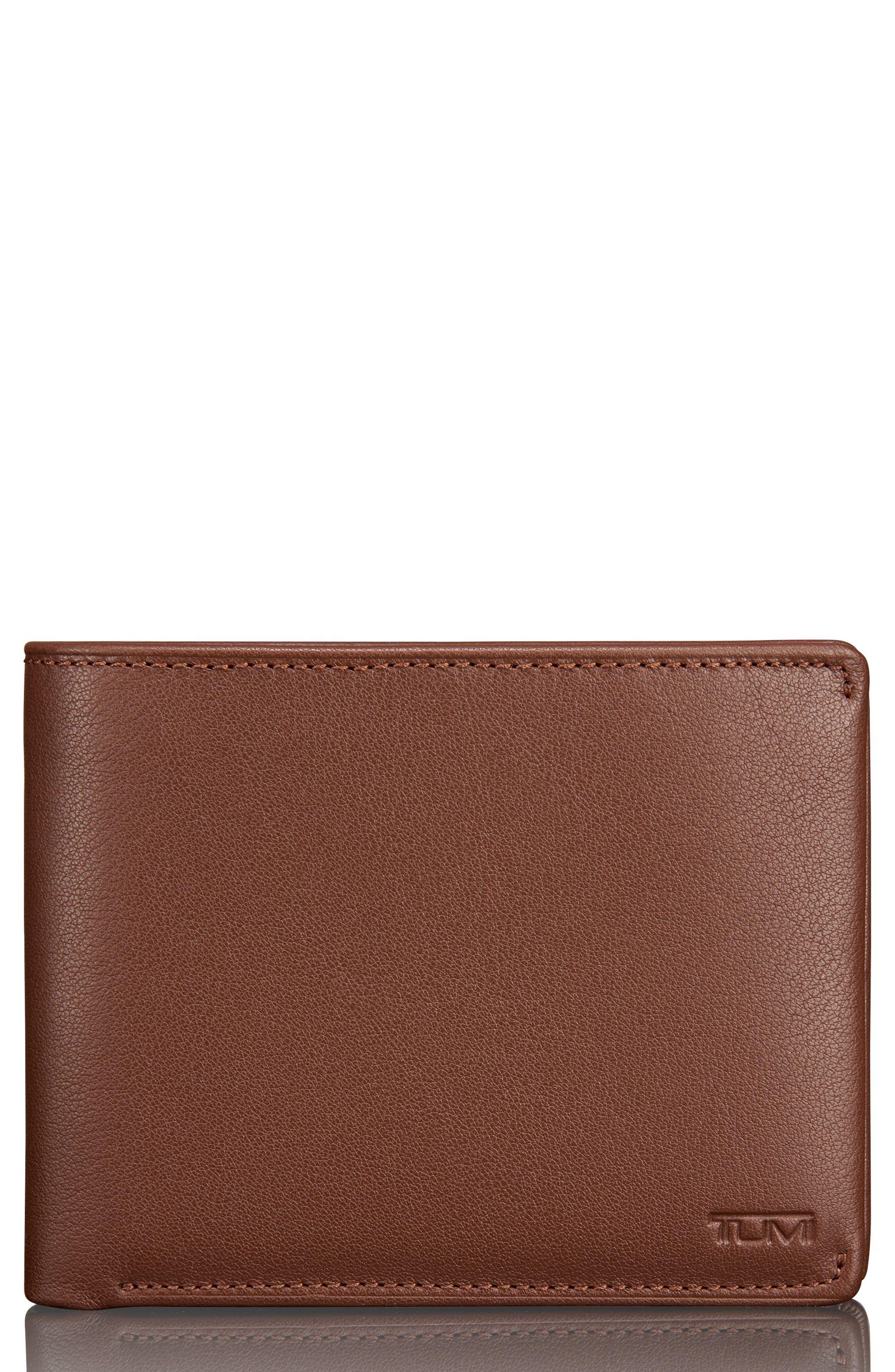 Global Passcase Wallet,                         Main,                         color, Brown Textured