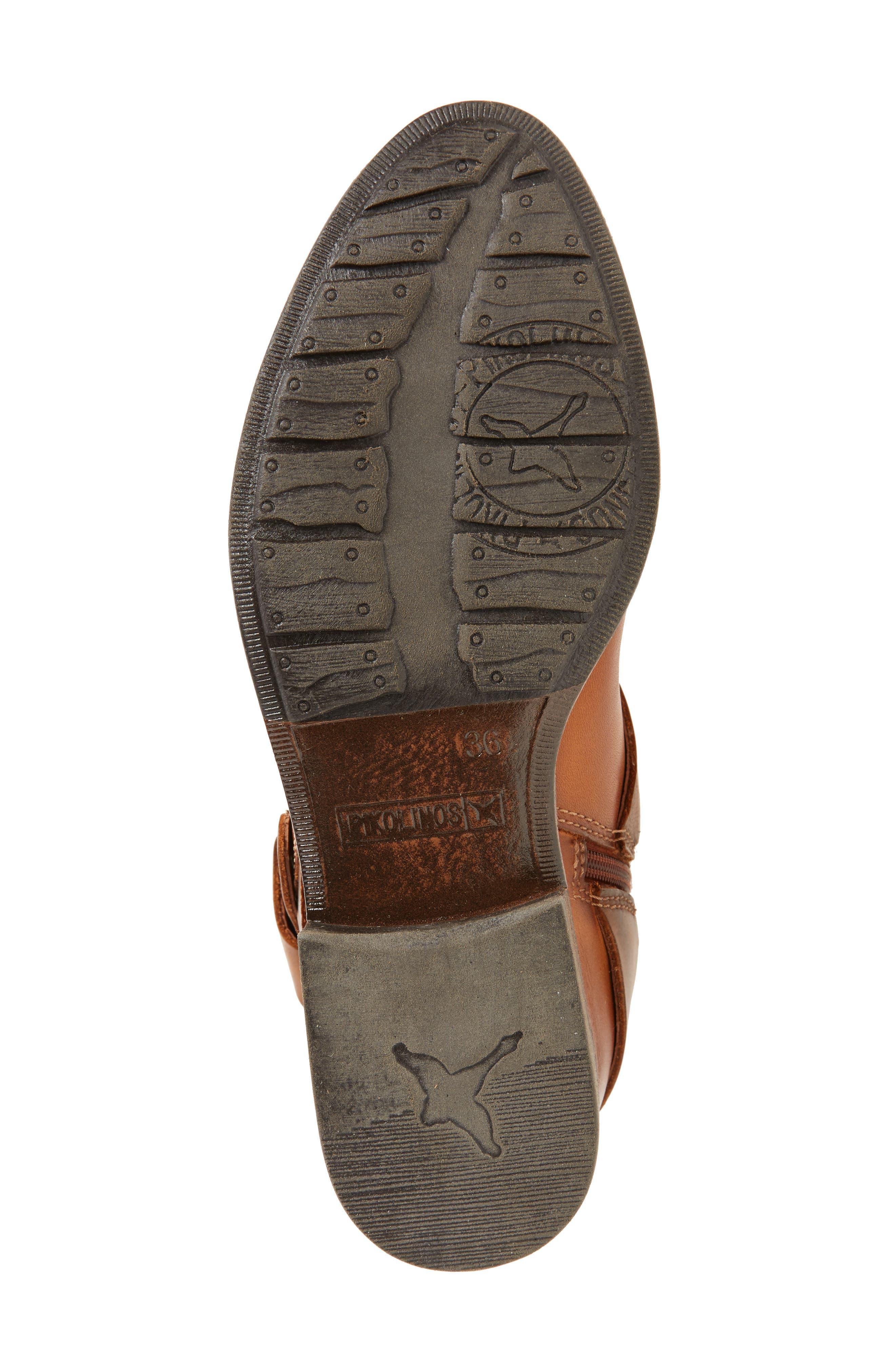 Ordino Knee High Boot,                             Alternate thumbnail 6, color,                             Brandy Cuero Leather