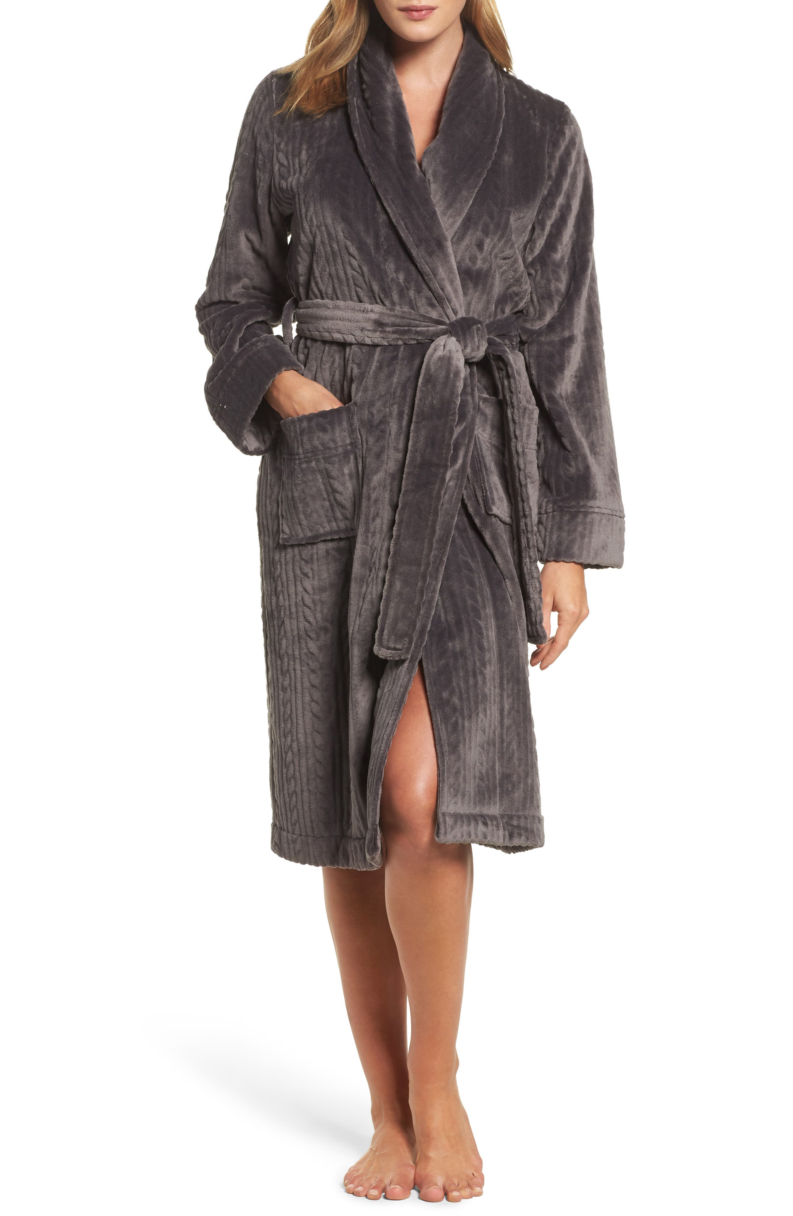 Alternate Image 1 Selected - Nordstrom So Soft Plush Robe