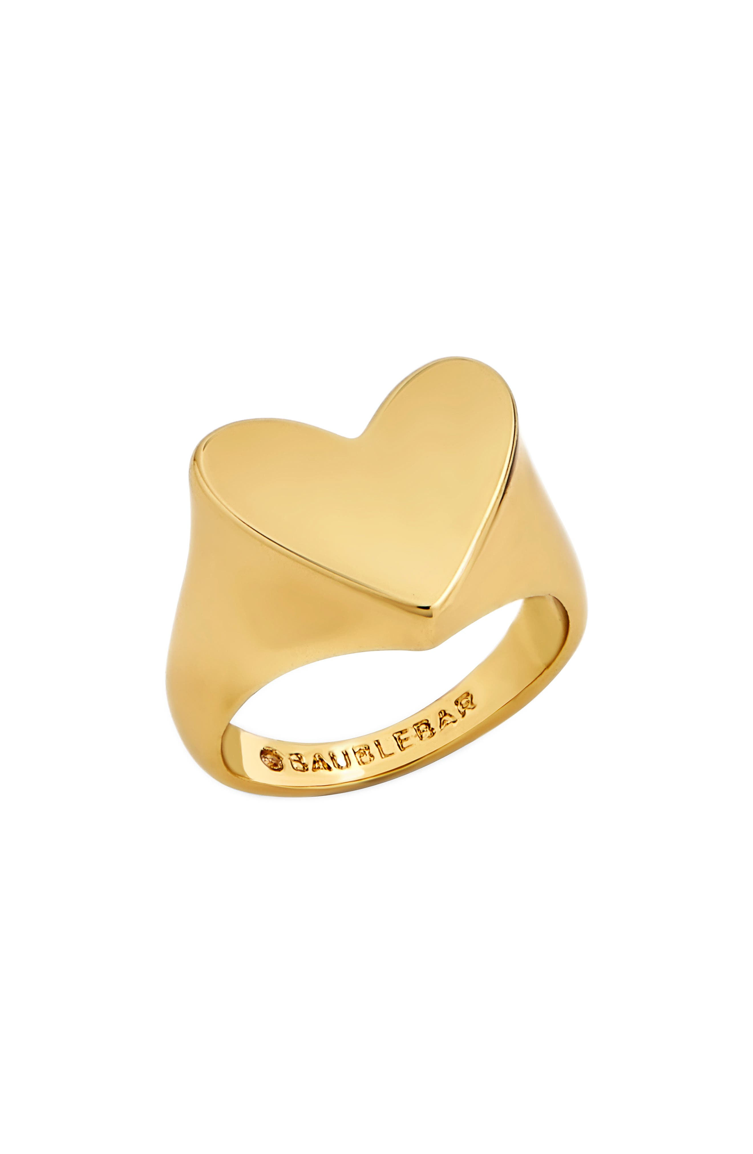 Love You Pinky Ring,                             Main thumbnail 1, color,                             Gold