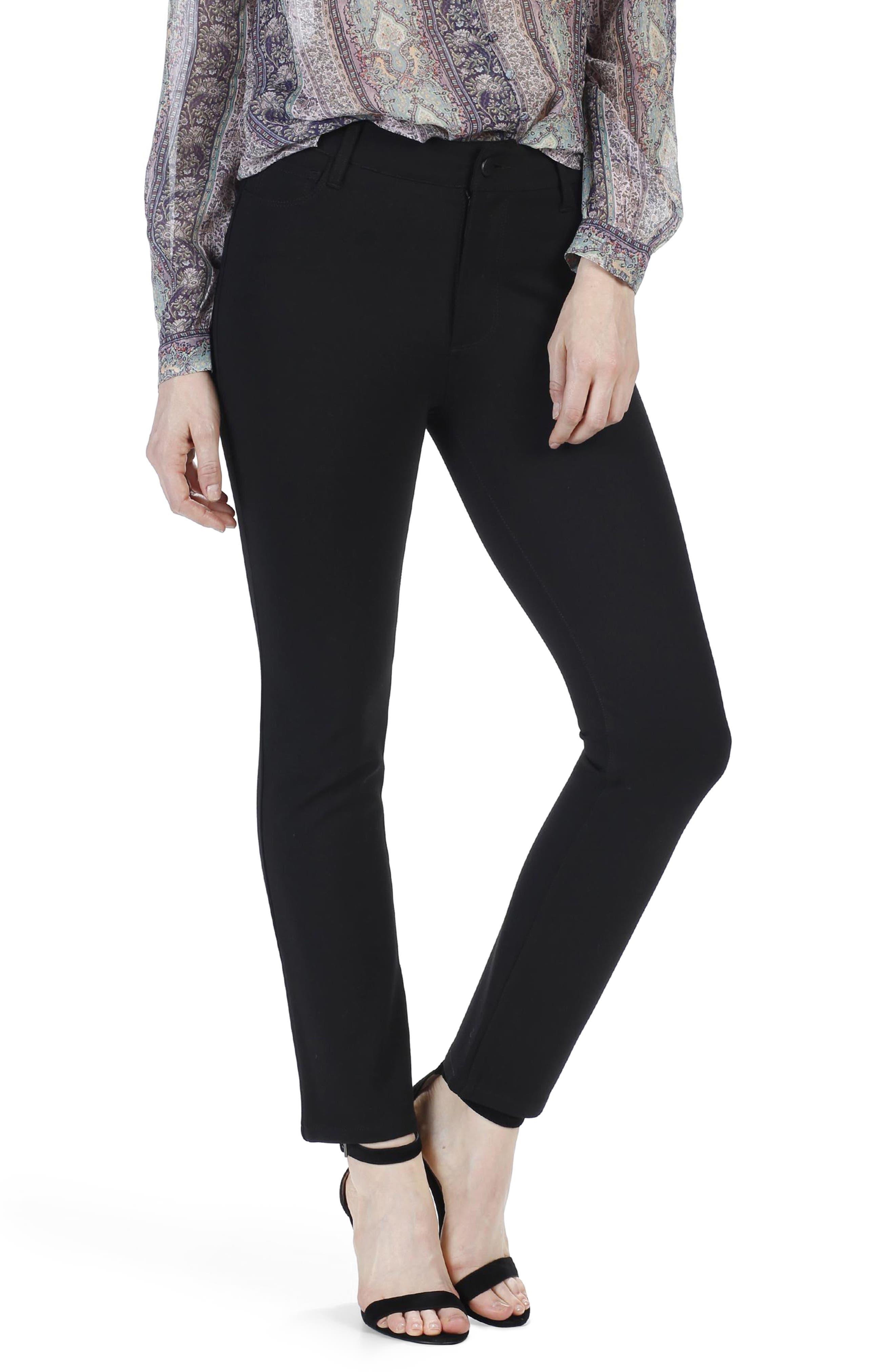 Alternate Image 3  - PAIGE Jacqueline High Waist Crop Straight Leg Pants