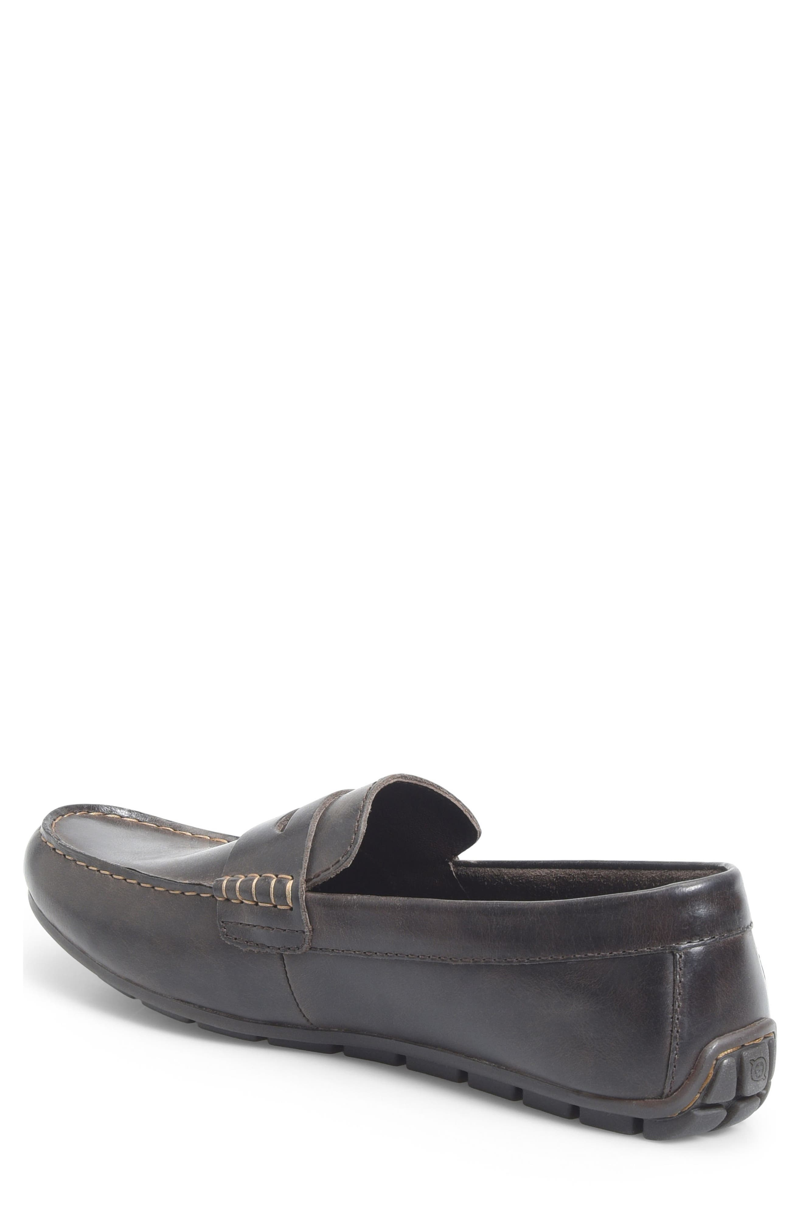 Andes Driving Shoe,                             Alternate thumbnail 2, color,                             Chocolate