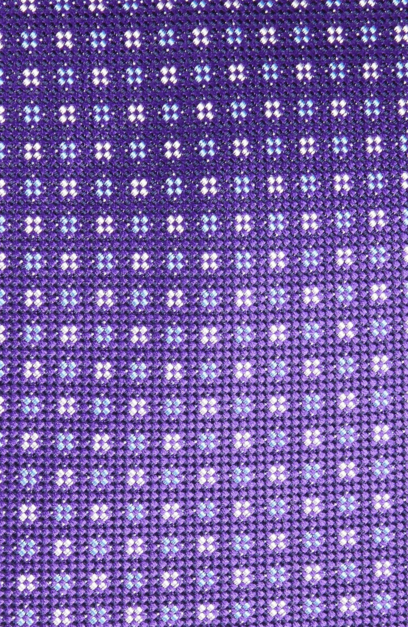 Alternate Image 2  - Eton Neat Silk Tie