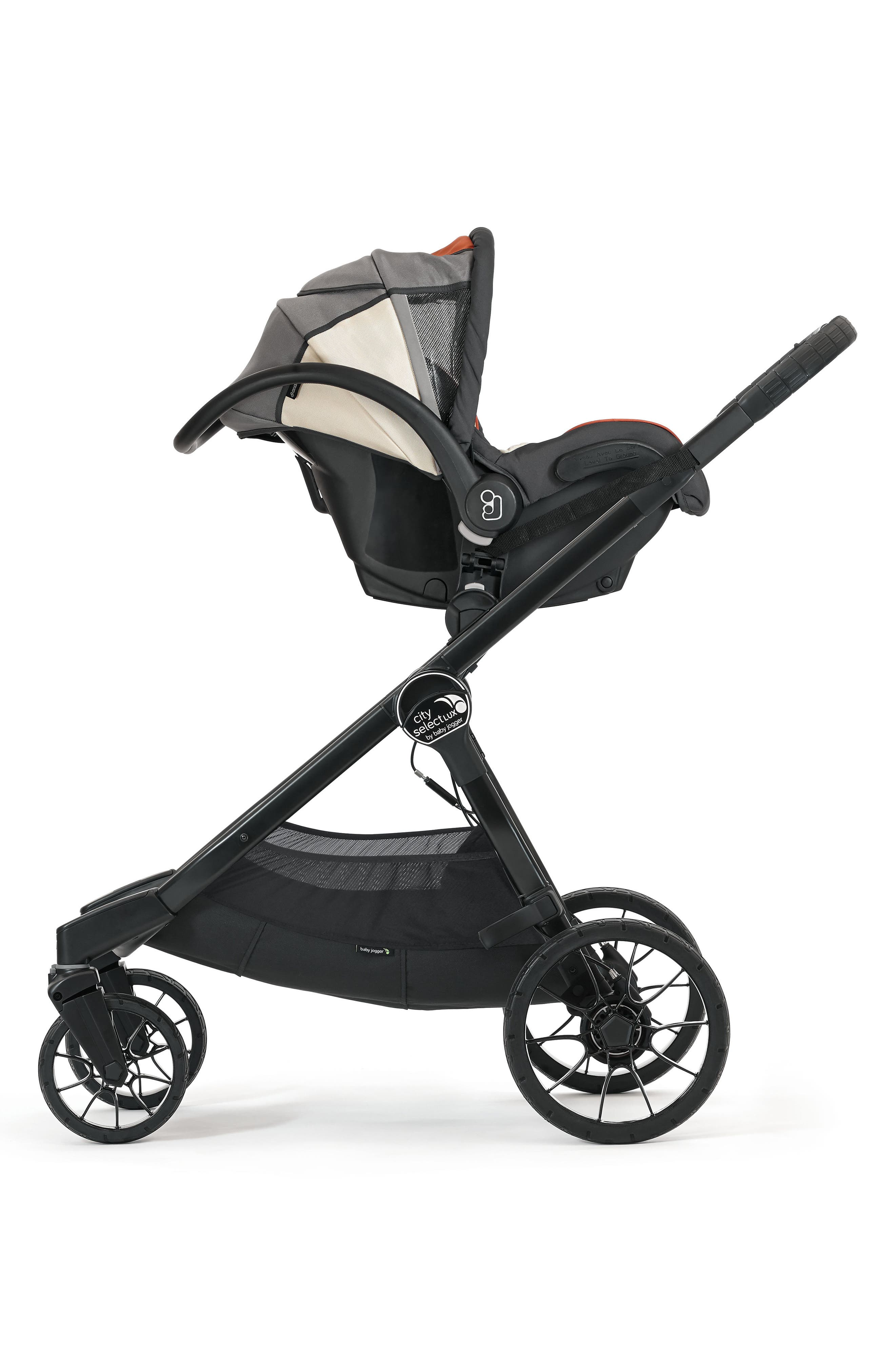 City Select<sup>®</sup>/City Premier<sup>®</sup> Stroller to Cybex, nuna & Maxi-Cosi<sup>®</sup> Car Seat Adapter,                         Main,                         color, Black