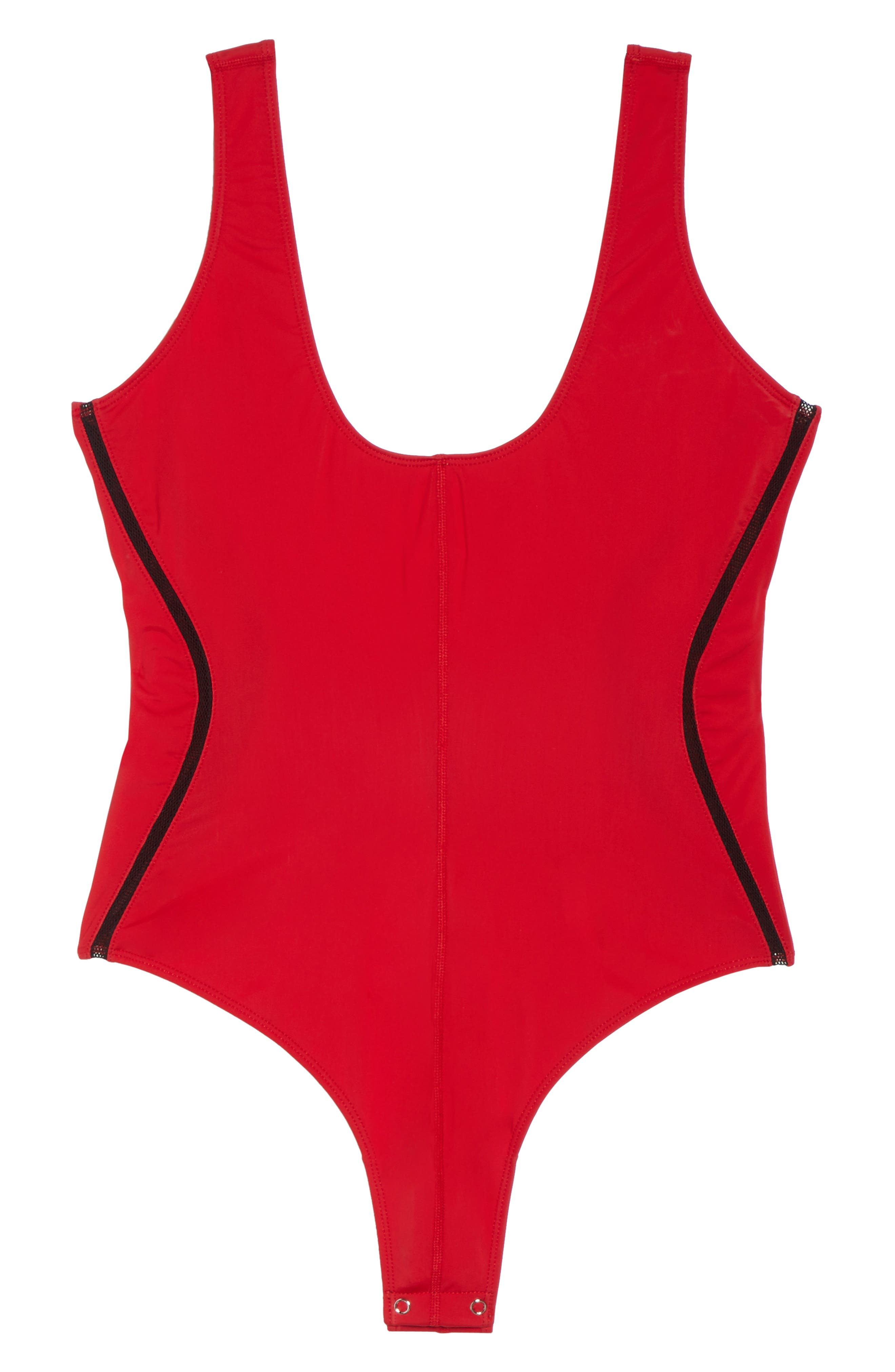 Alternate Image 8  - Good Body Compression Tank Bodysuit (Regular & Plus Size)