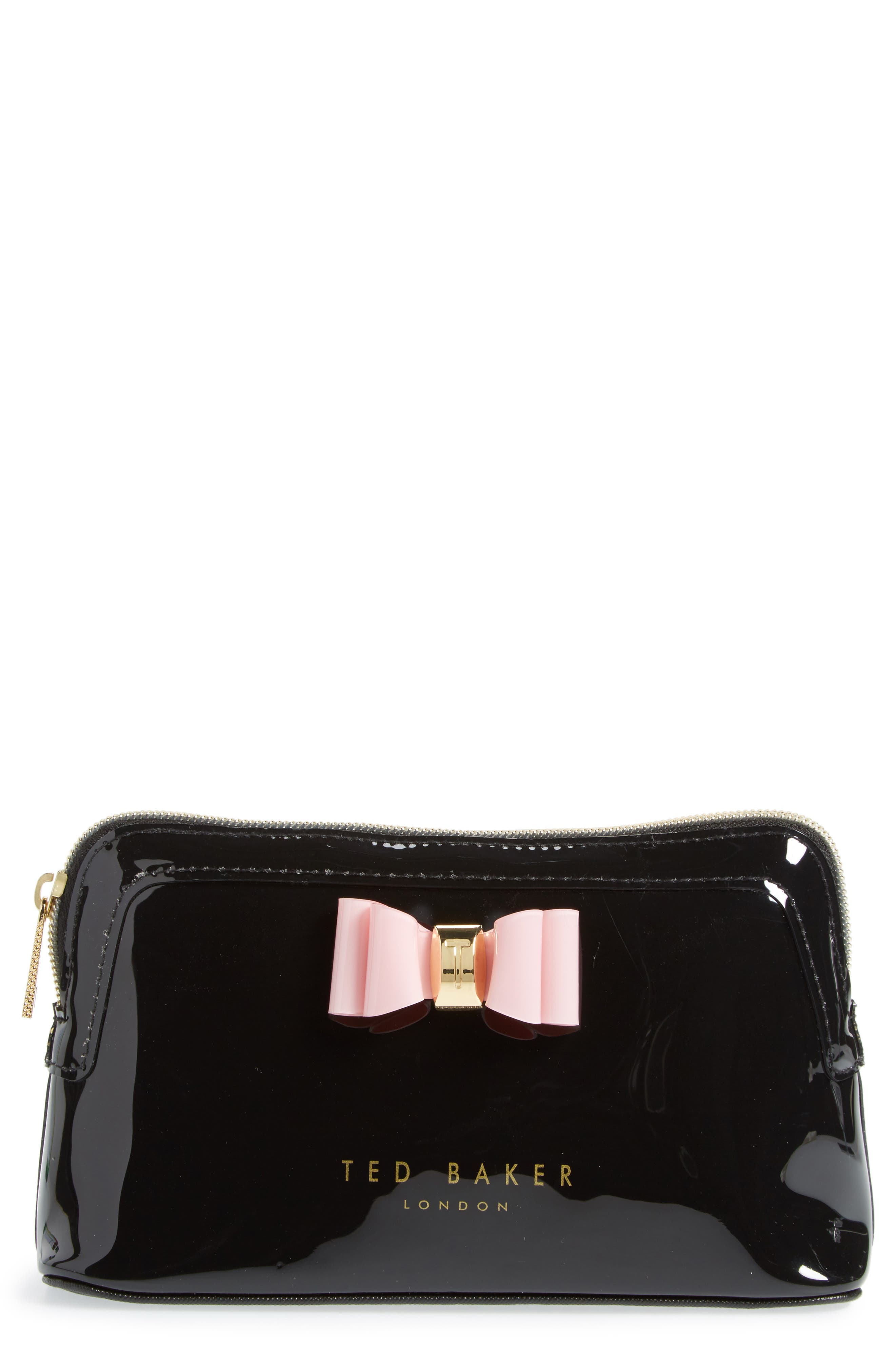 Ted Baker London Julis Bow Cosmetics Bag