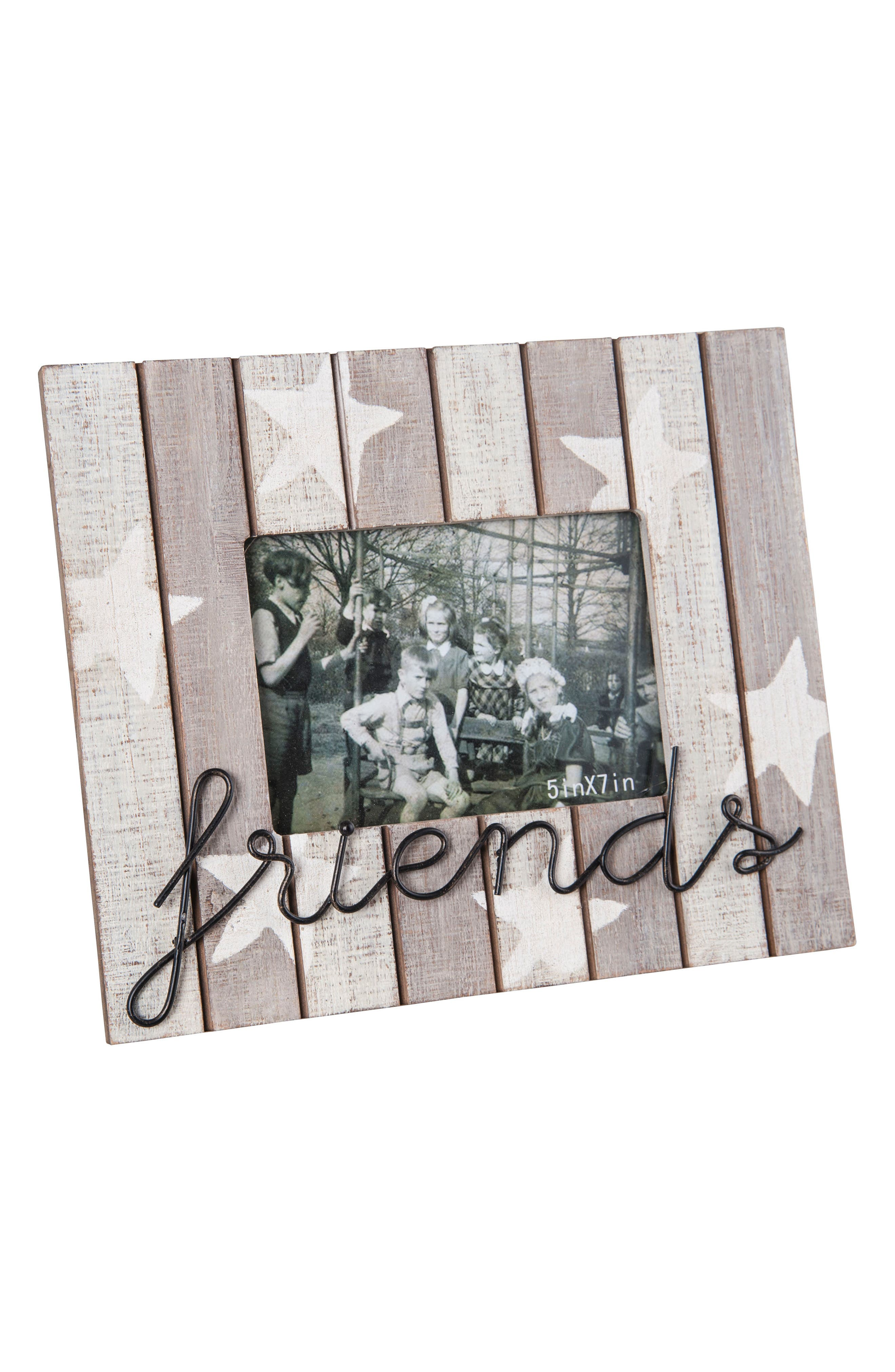 Friends Picture Frame,                             Main thumbnail 1, color,                             Wood/ Metal/ Glass