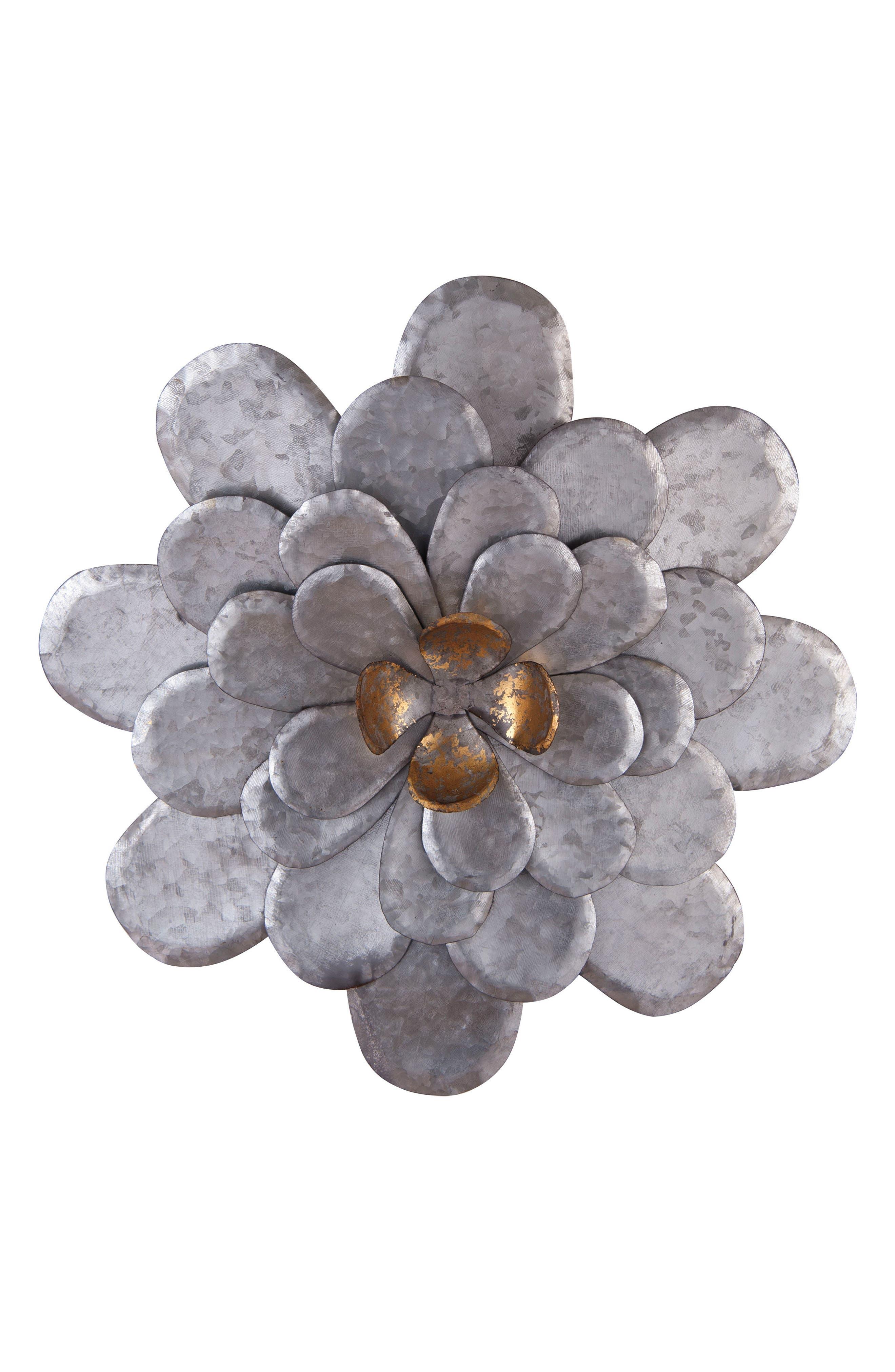 Alternate Image 1 Selected - Foreside Flower Wall Art