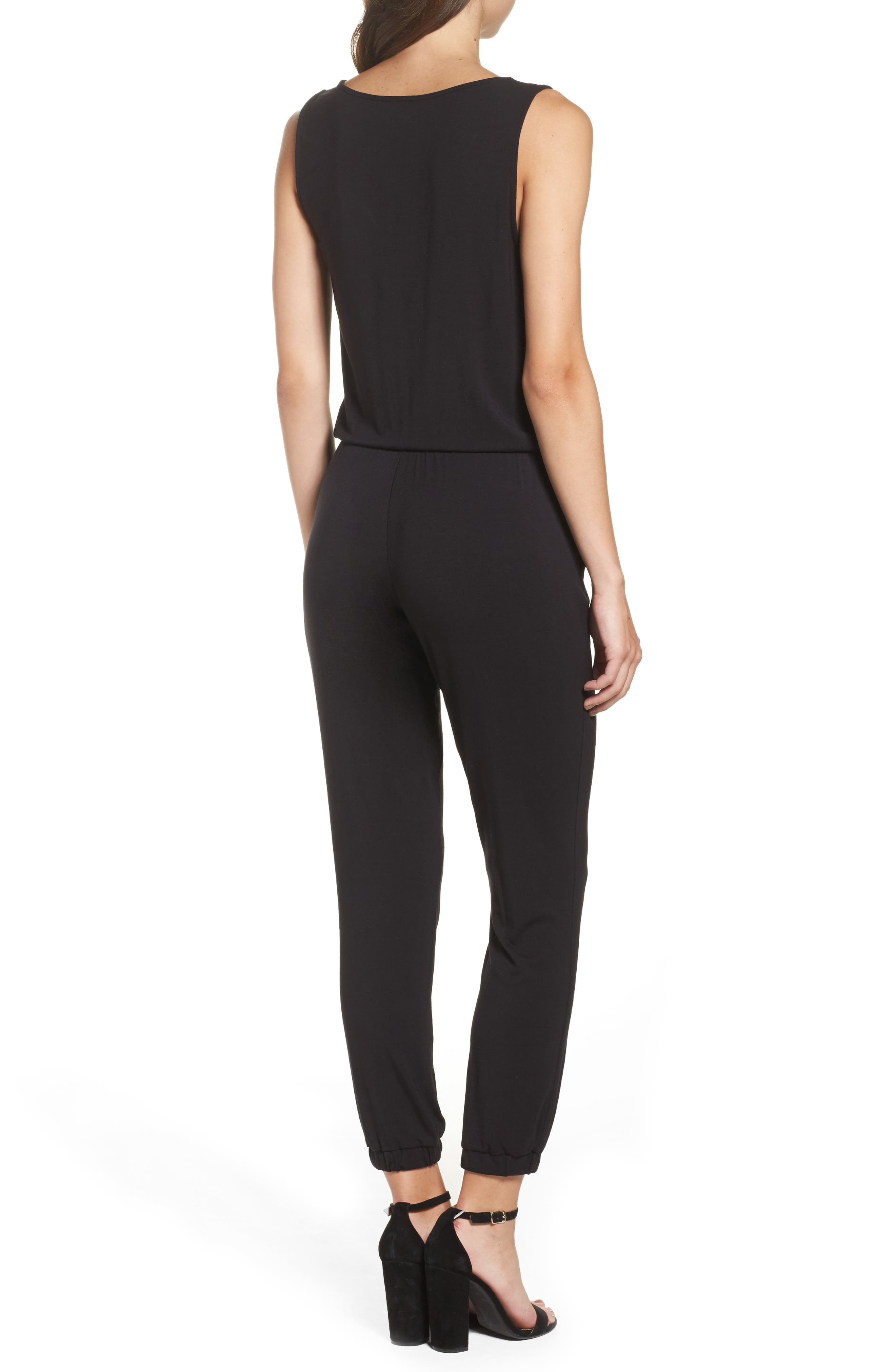 Alternate Image 2  - BB Dakota 'Milligan' Sleeveless Jumpsuit