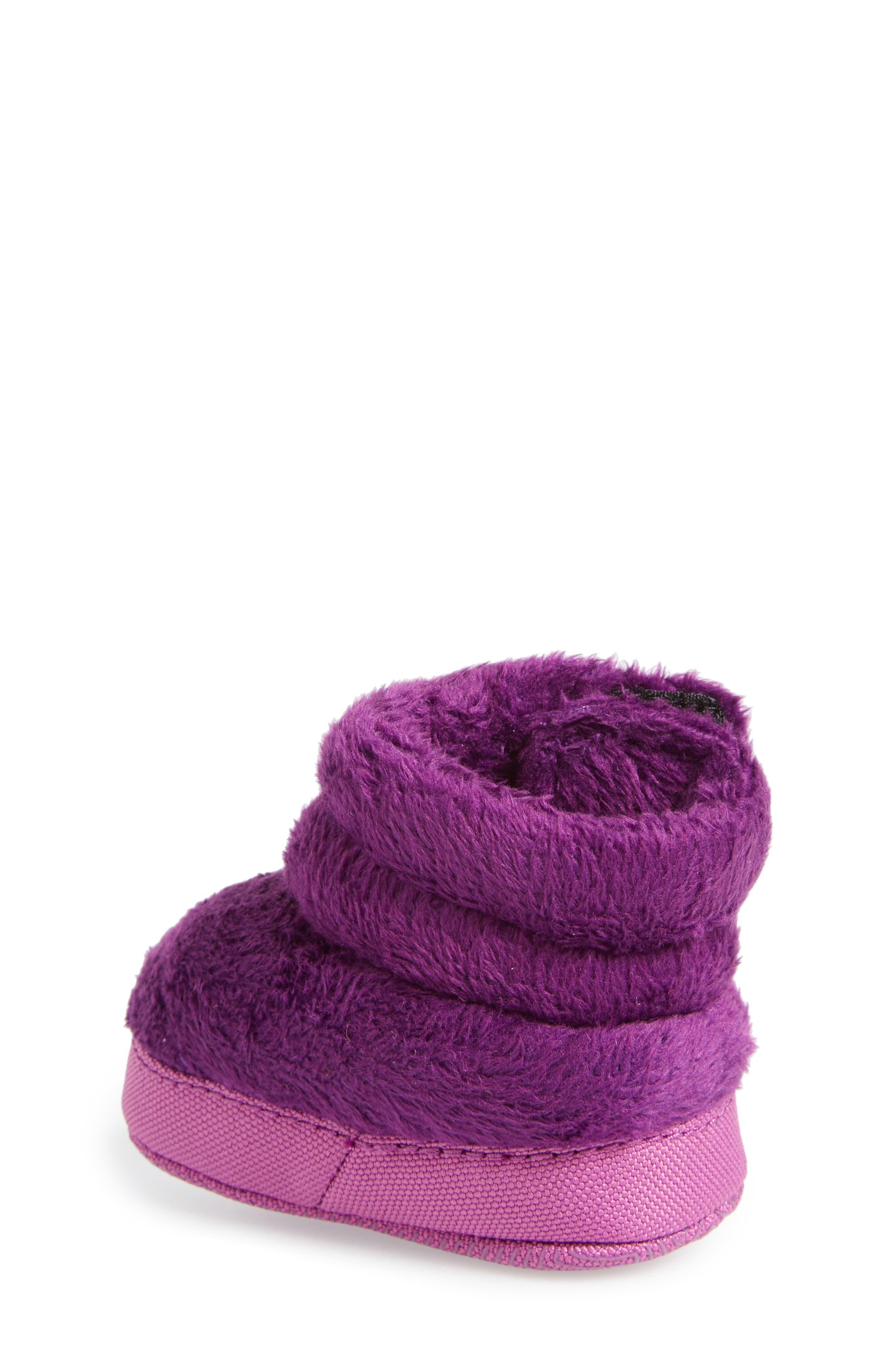 Faux Fur Bootie,                             Alternate thumbnail 2, color,                             Wood Violet