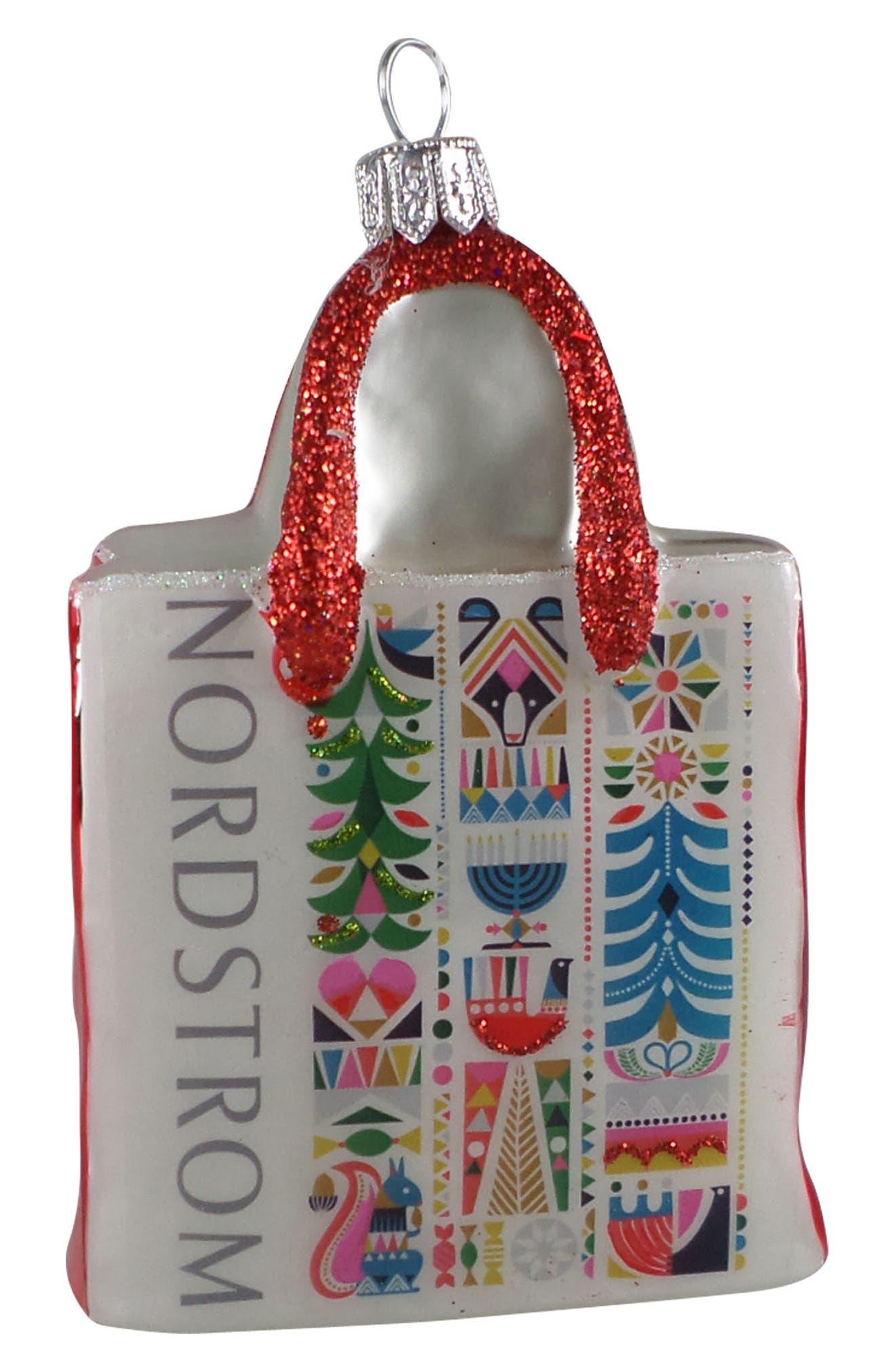 Alternate Image 1 Selected - Nordstrom at Home Nordstrom Shopping Bag 2017 Ornament