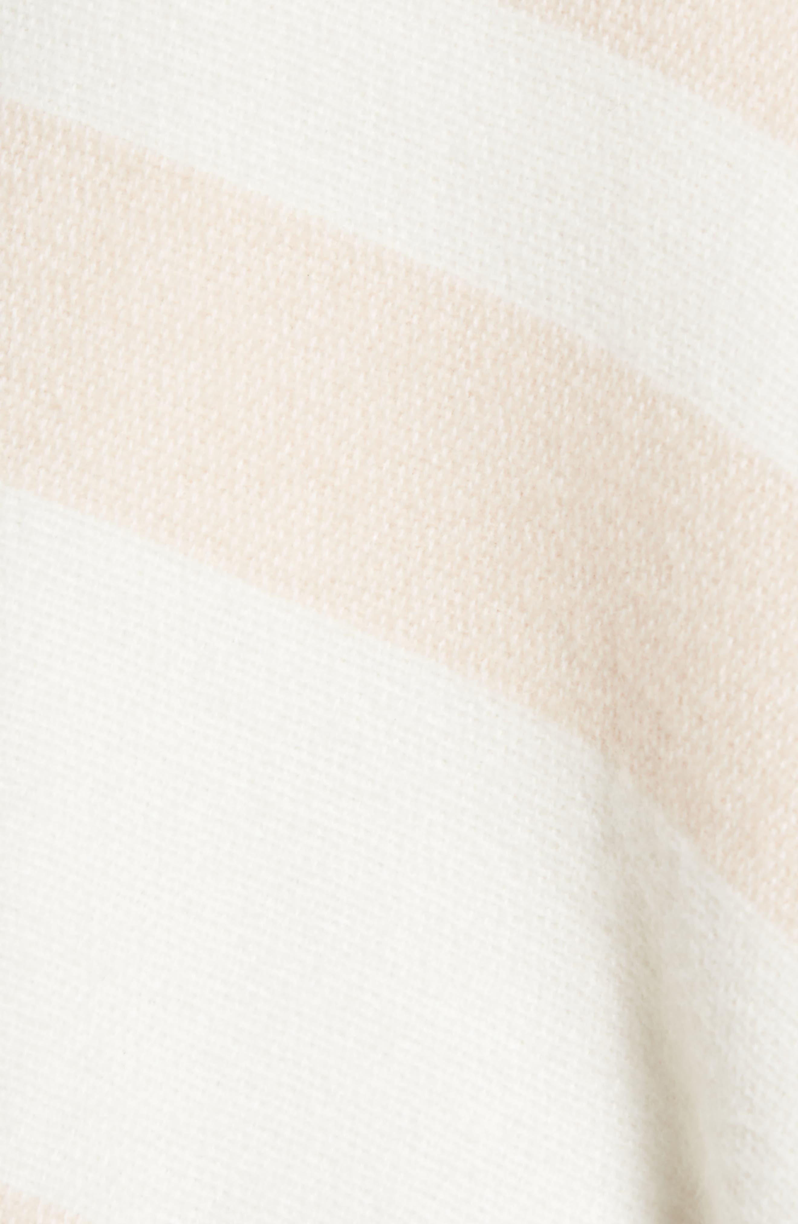 Stripe Ruana,                             Alternate thumbnail 5, color,                             Blush