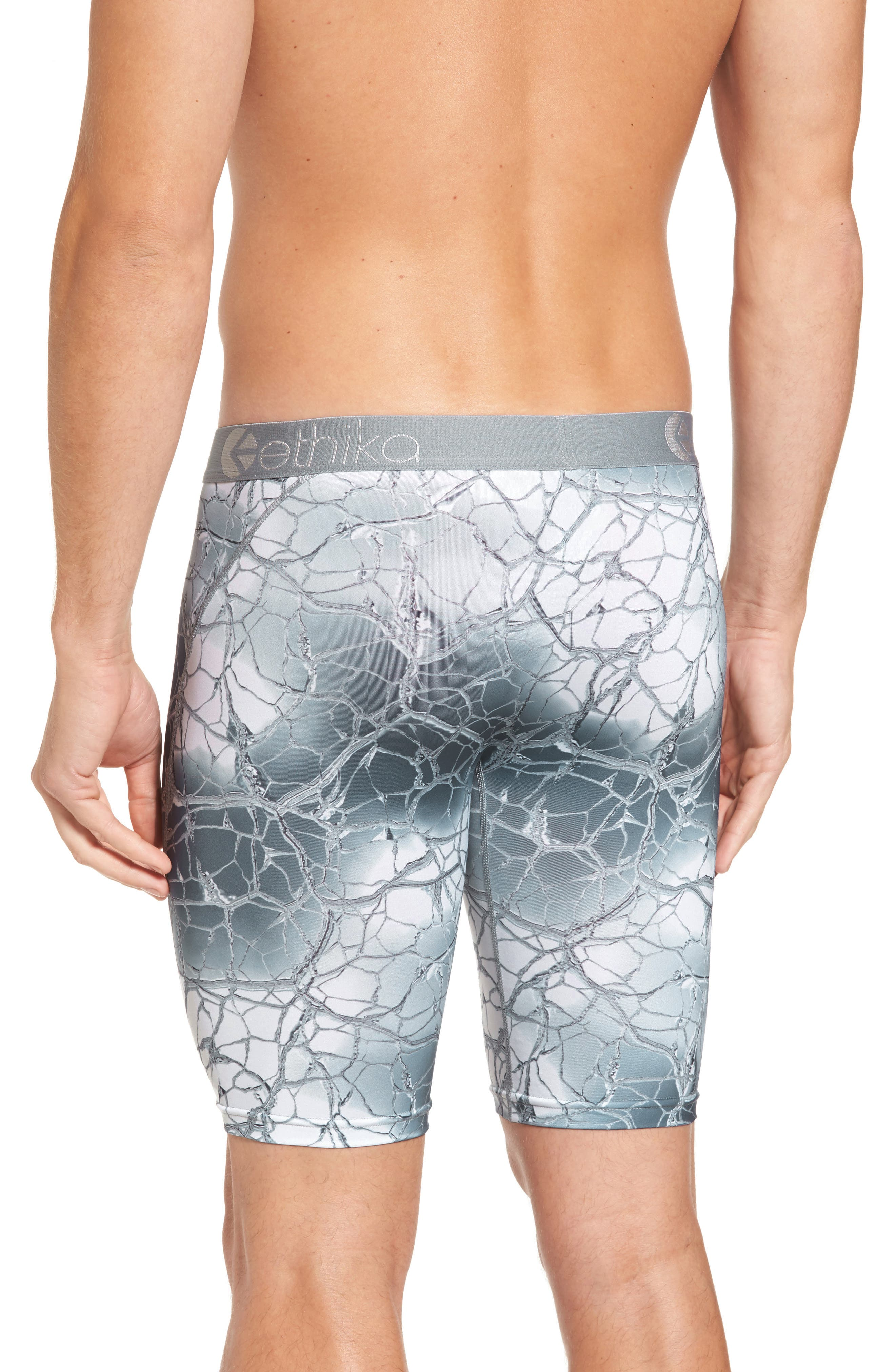 Alternate Image 2  - Ethika Silver Veins Boxer Briefs