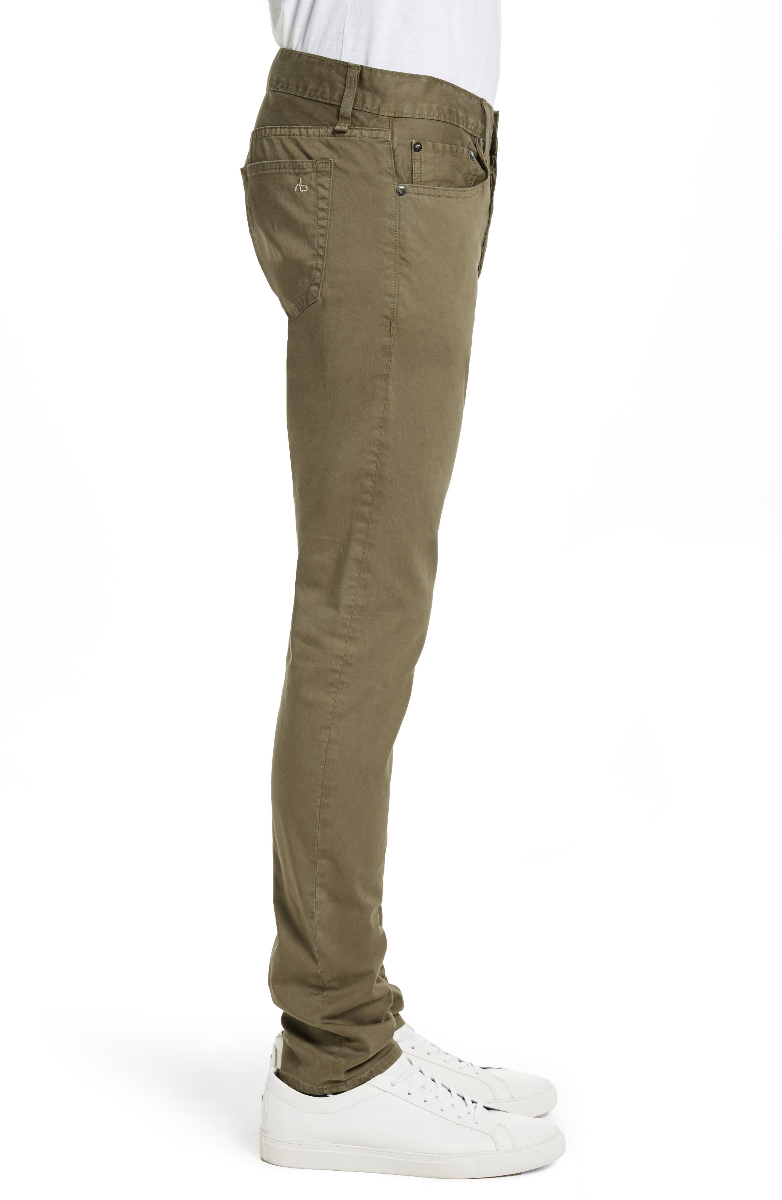 Alternate Image 3  - rag & bone Fit 1 Twill Skinny Fit Pants