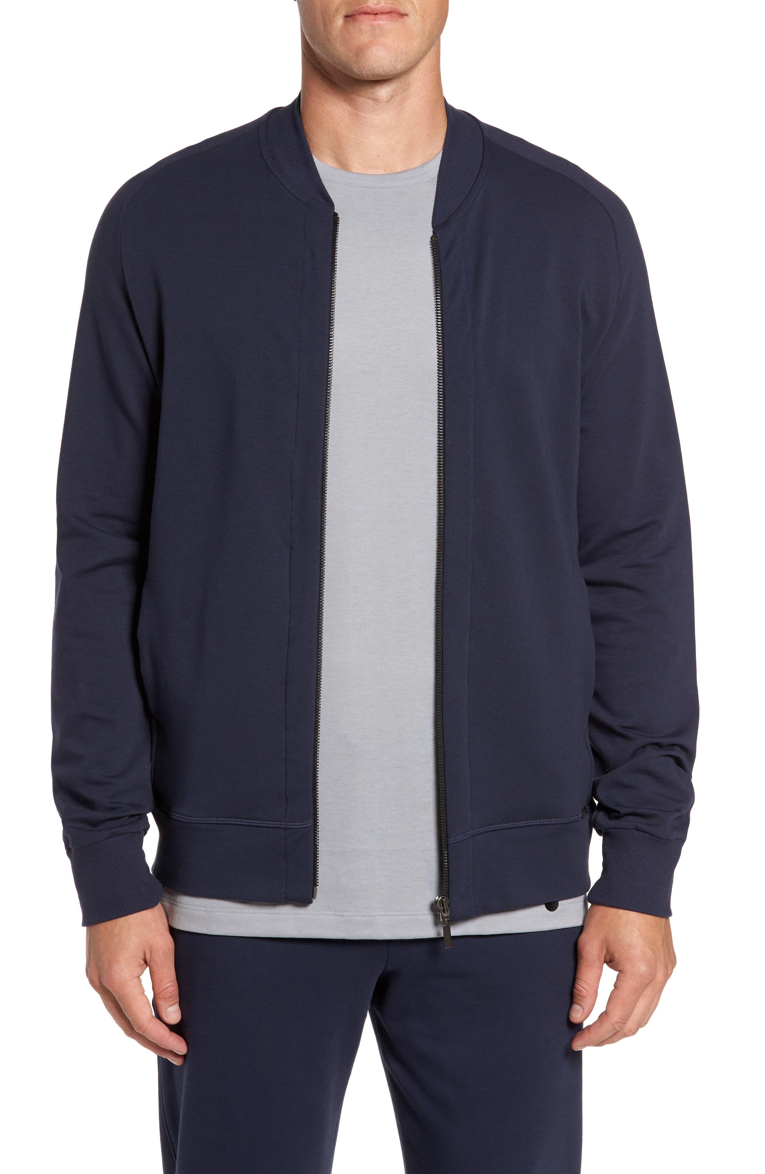 Hanro Living Zip Bomber Jacket