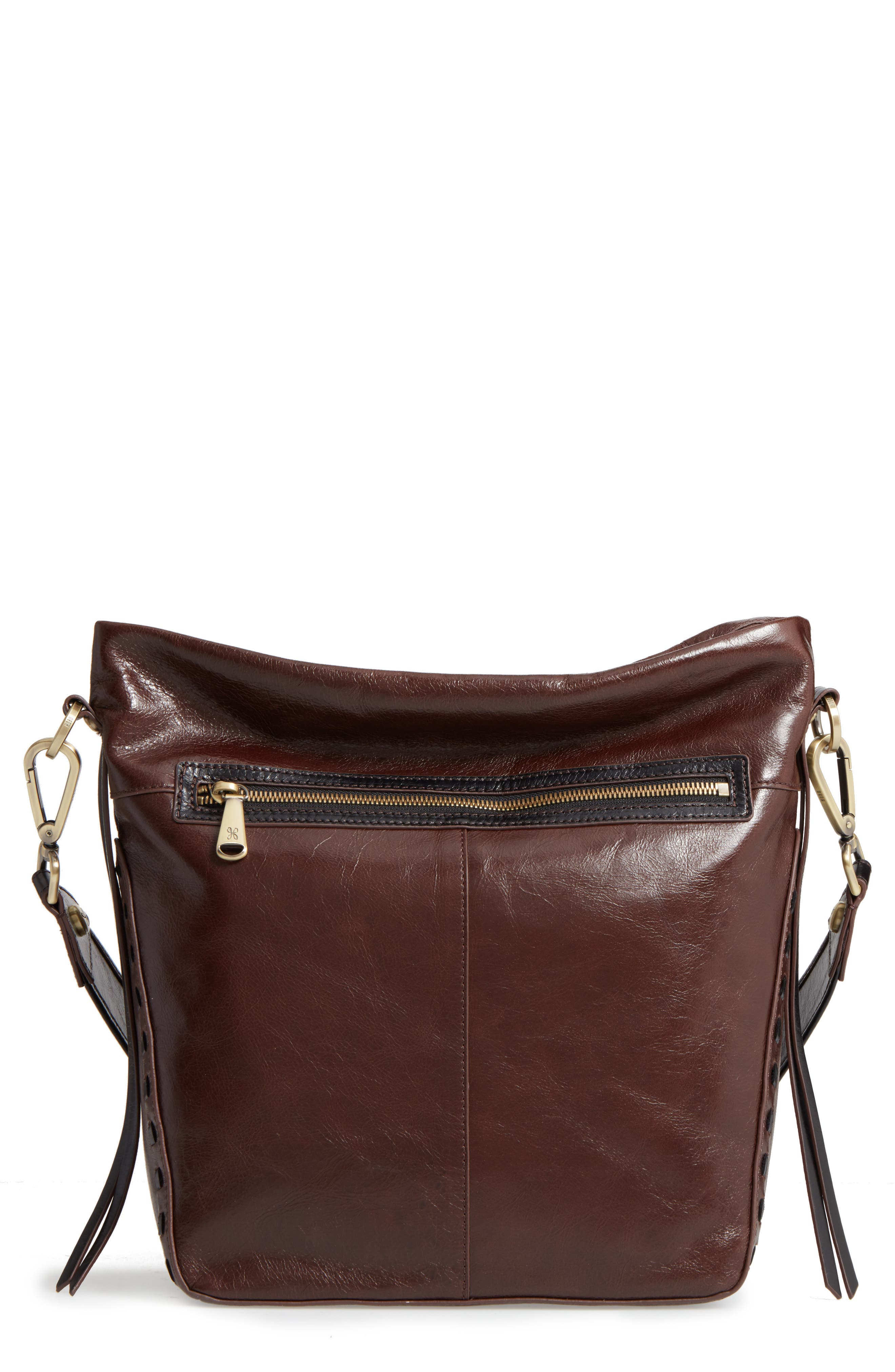 Hobo Banyon Calfskin Leather Bucket Bag
