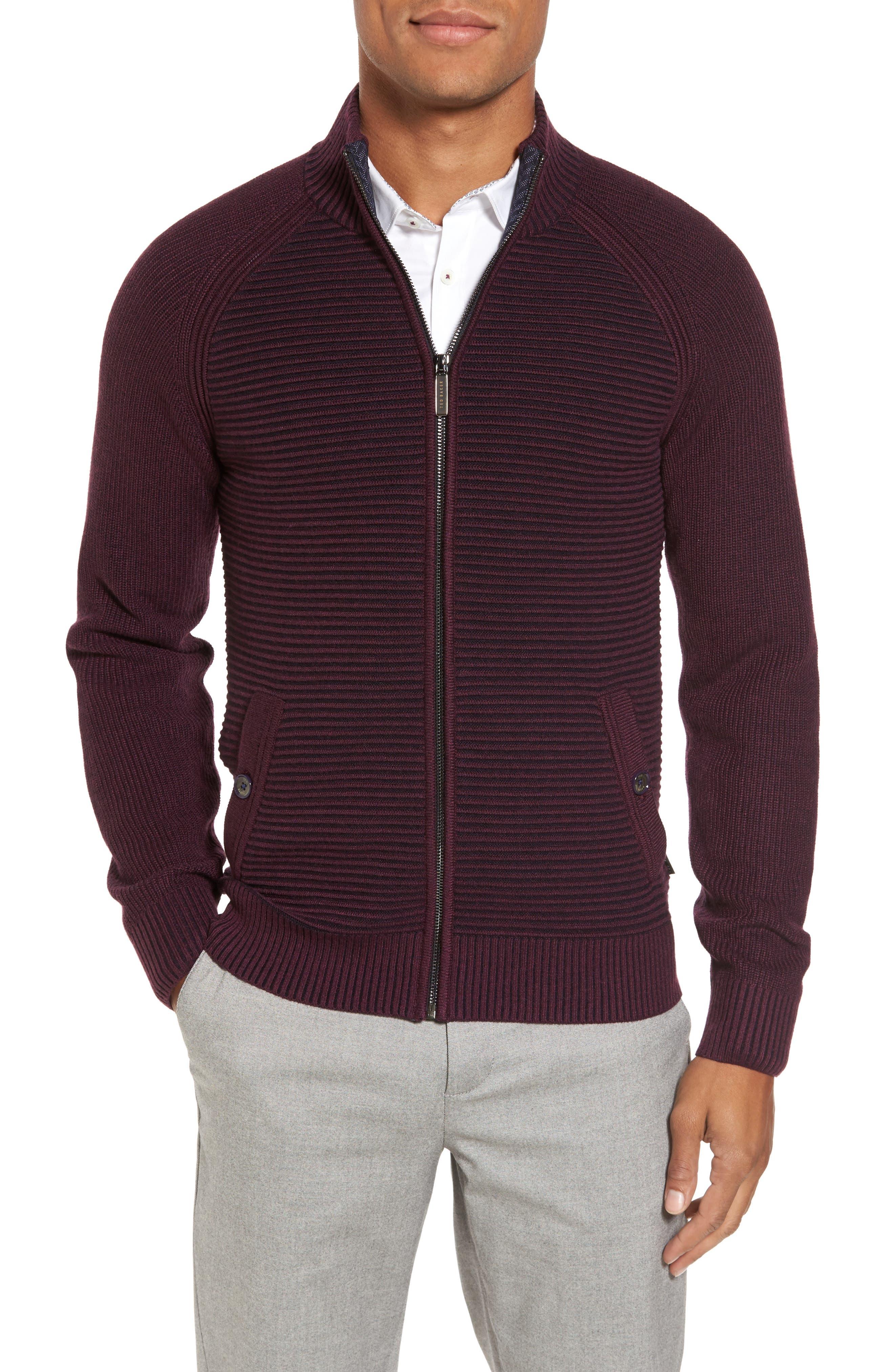 Alternate Image 1 Selected - Ted Baker London Modern Slim Fit Raglan Sweater
