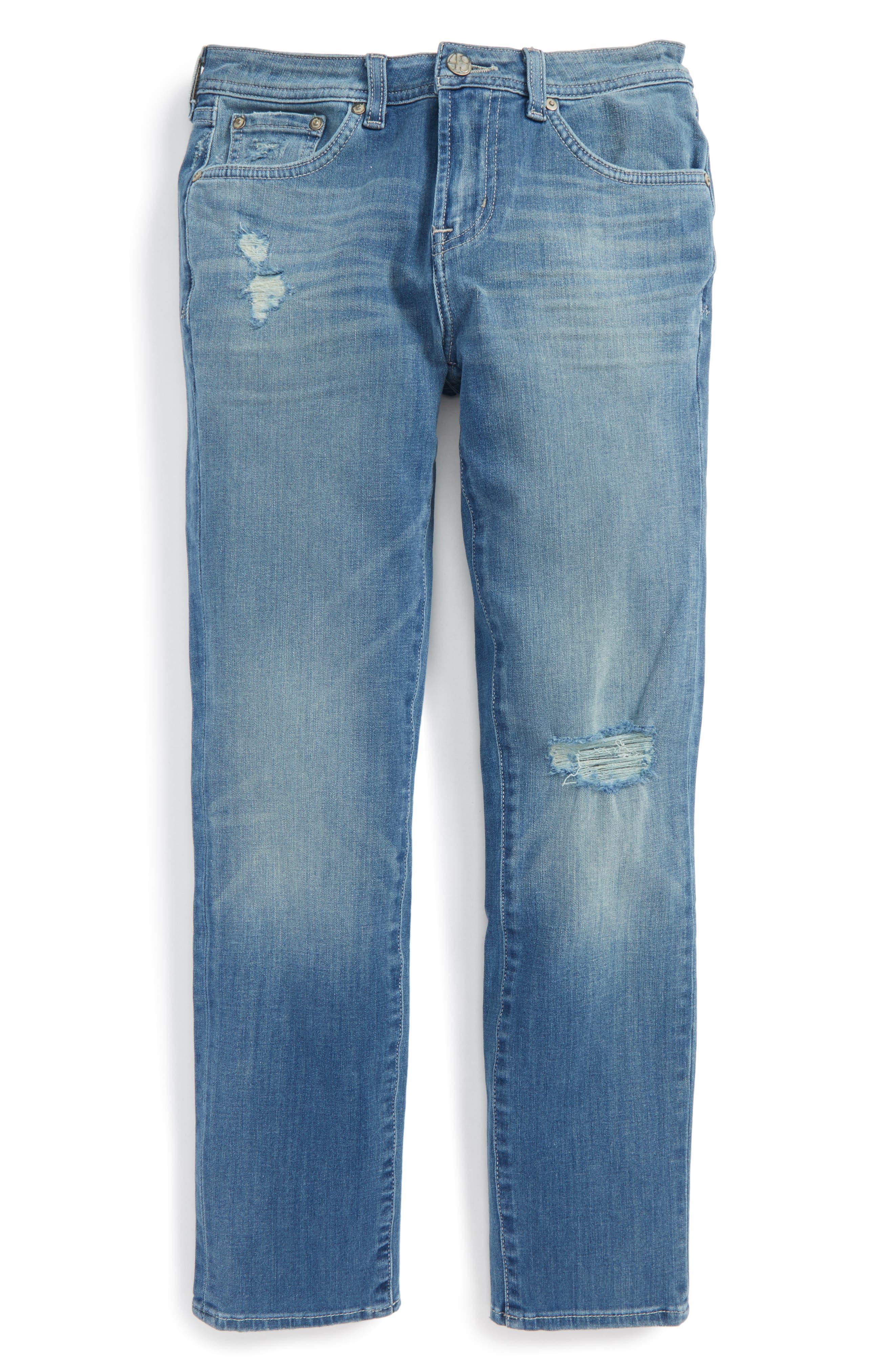 Alternate Image 1 Selected - ag adriano goldschmied kids The Noah Slim Straight Leg Jeans (Big Boys)