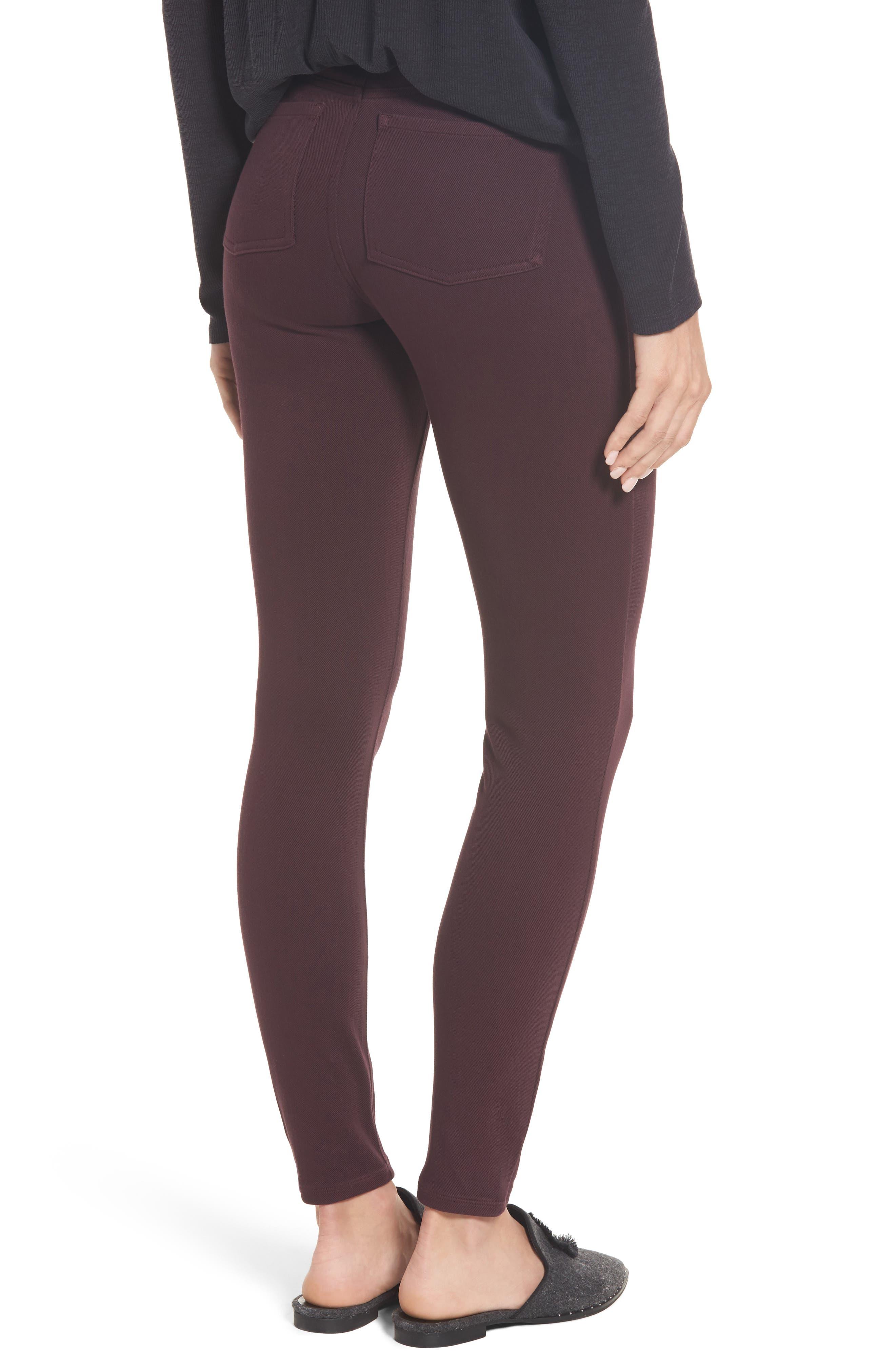 Alternate Image 2  - SPANX® Jean-ish Leggings
