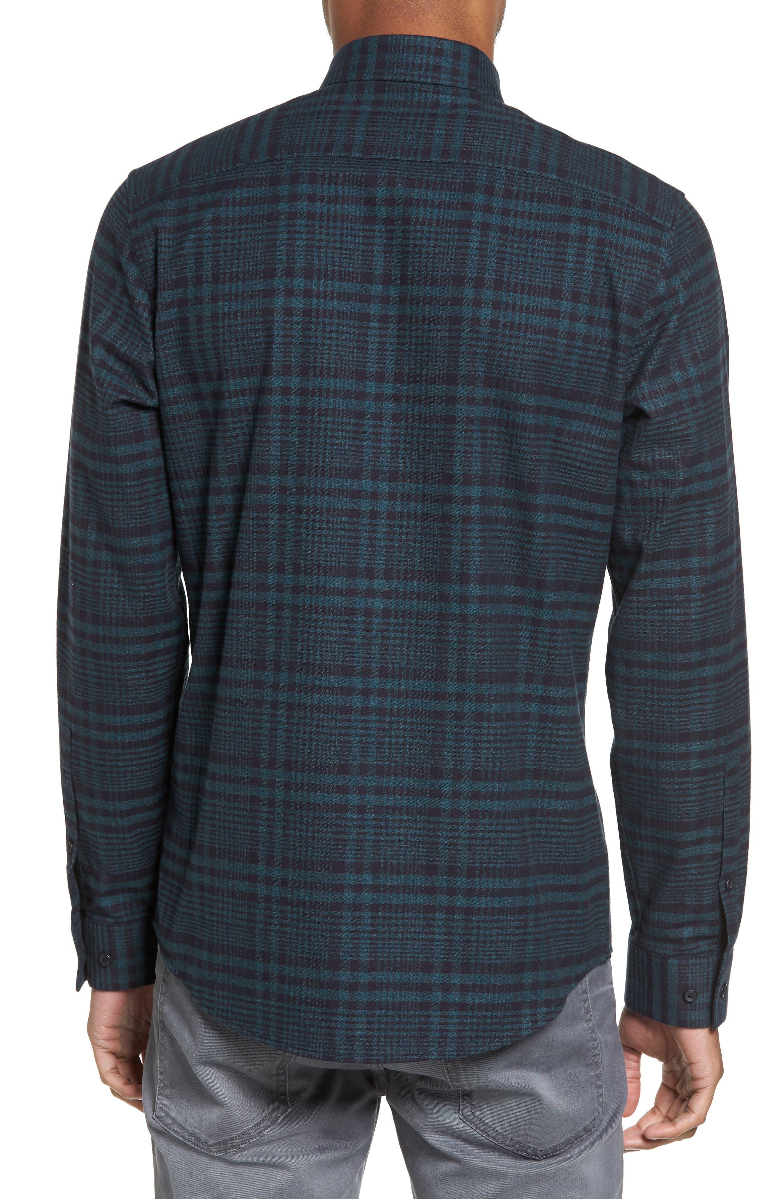 Alternate Image 2  - Calibrate Plaid Flannel Sport Shirt