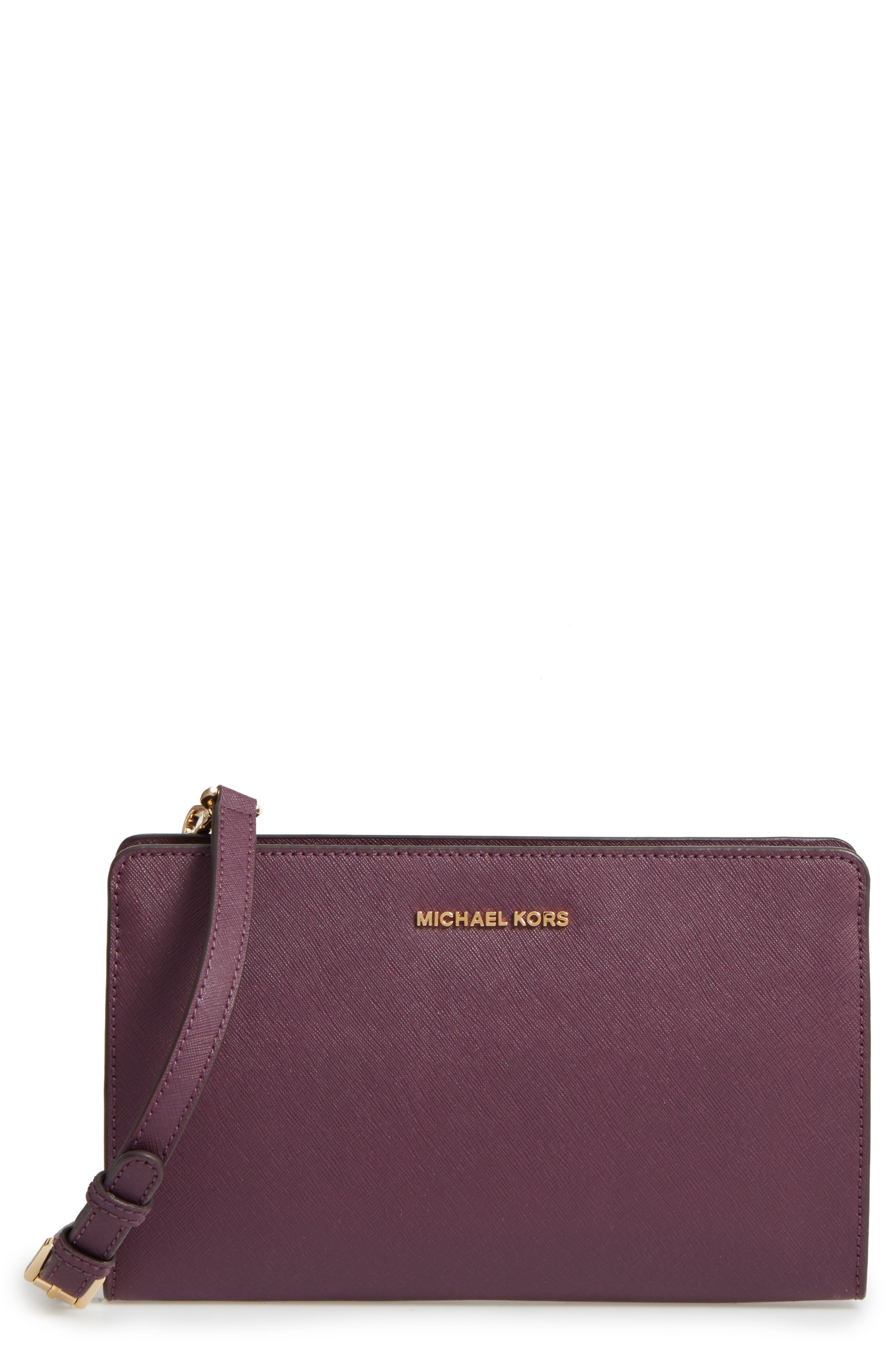 MICHAEL Michael Kors 'Large Jet Set Travel' Crossbody Bag