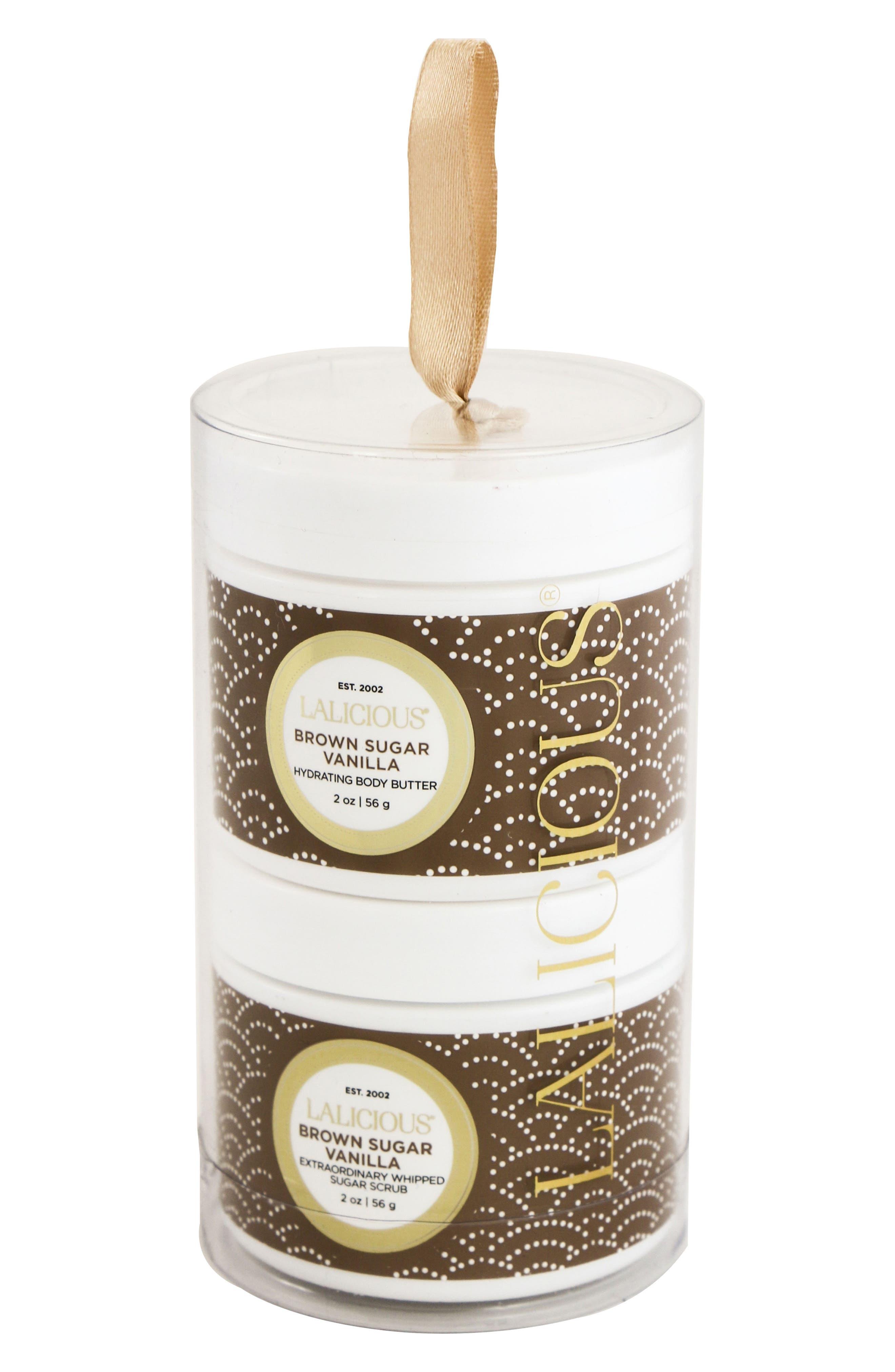 Main Image - LALICIOUS Brown Sugar Vanilla Mini Sparkle & Shine Set (Nordstrom Exclusive)