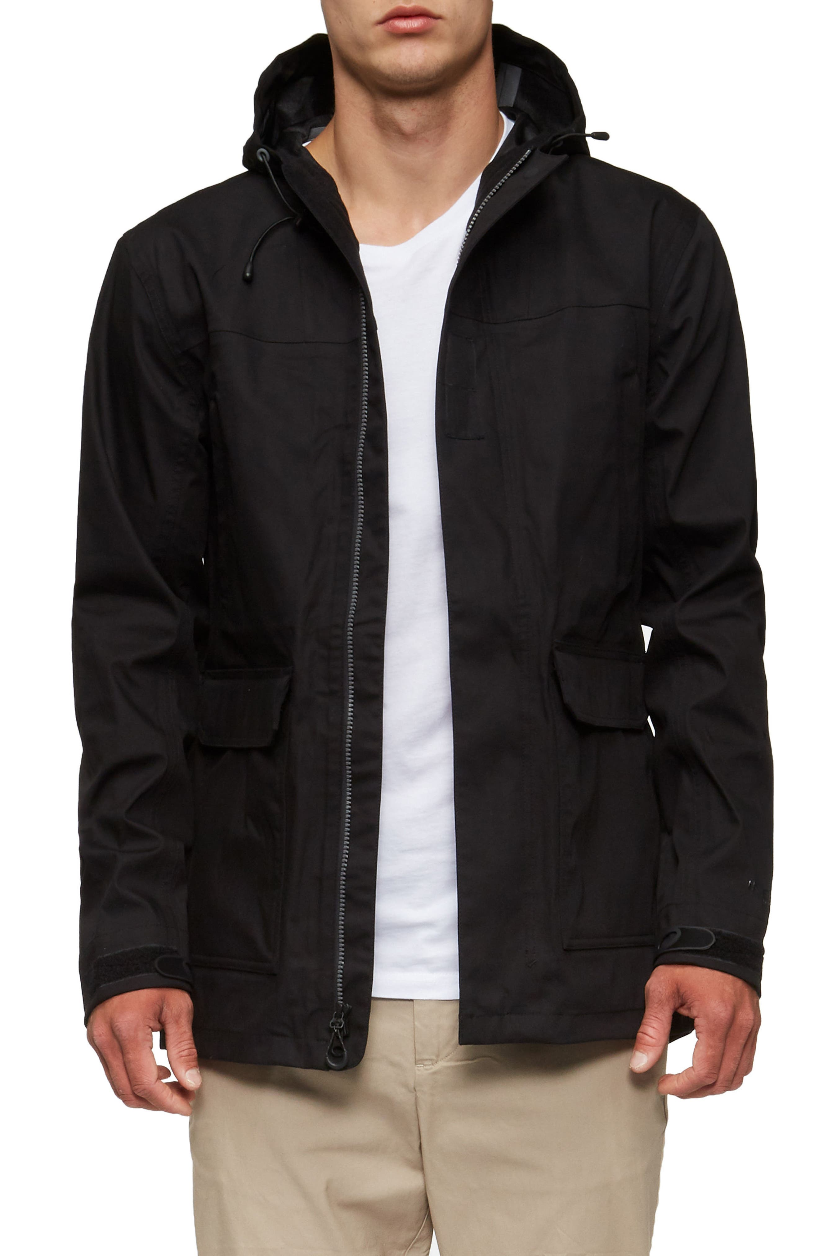Ridley Parka,                             Main thumbnail 1, color,                             Black